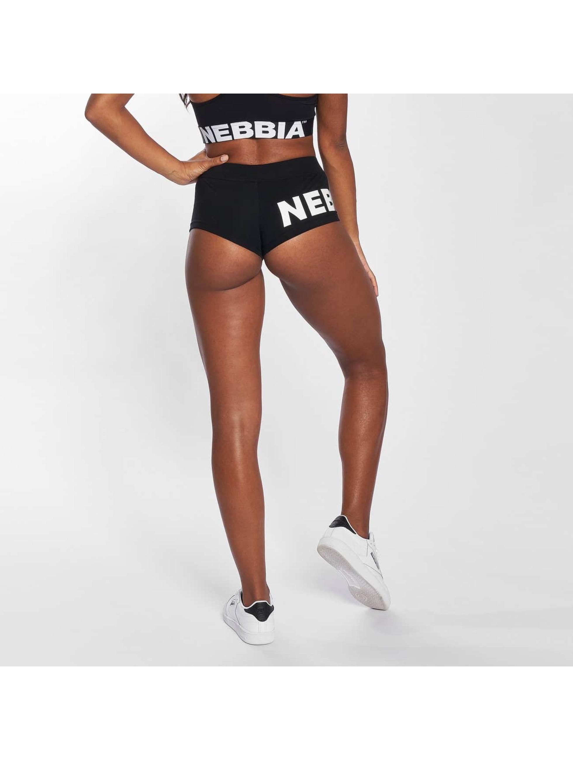 Nebbia Šortky Basic čern