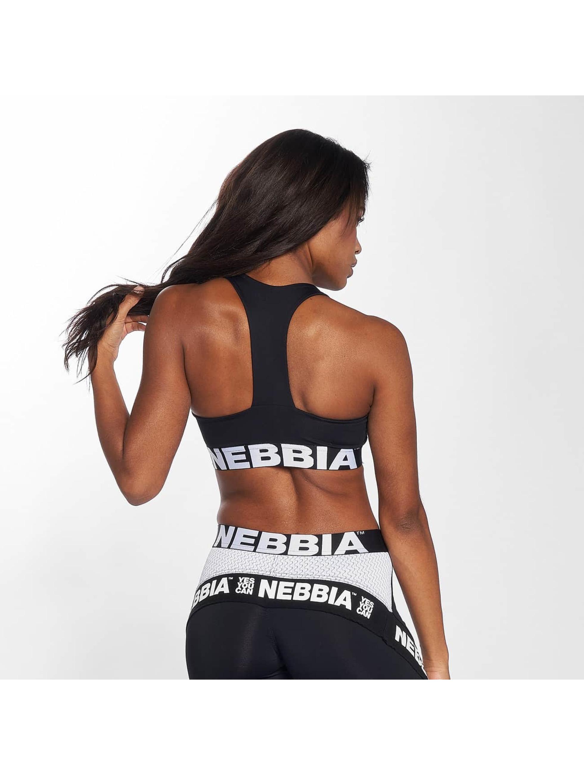 Nebbia Športová podprsenka Elegance čern