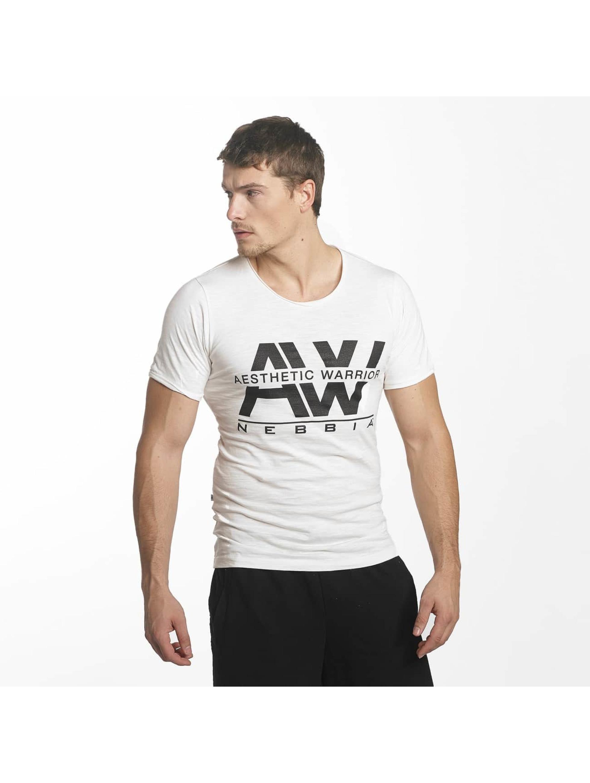 Nebbia Camiseta Stanka blanco
