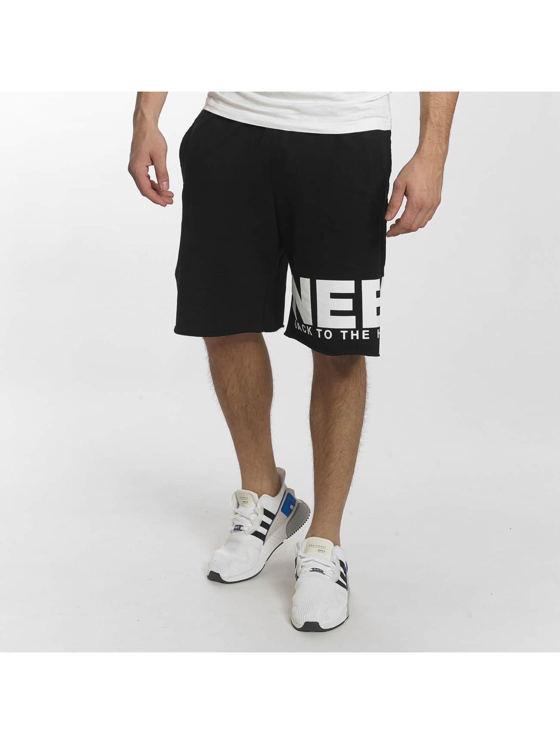 Nebbia Pantalón cortos N3 negro