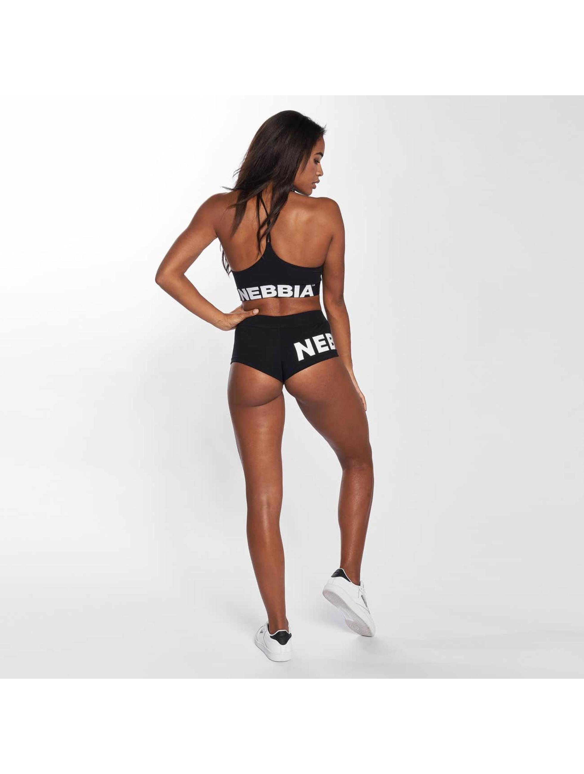 Nebbia Shorts Basic svart