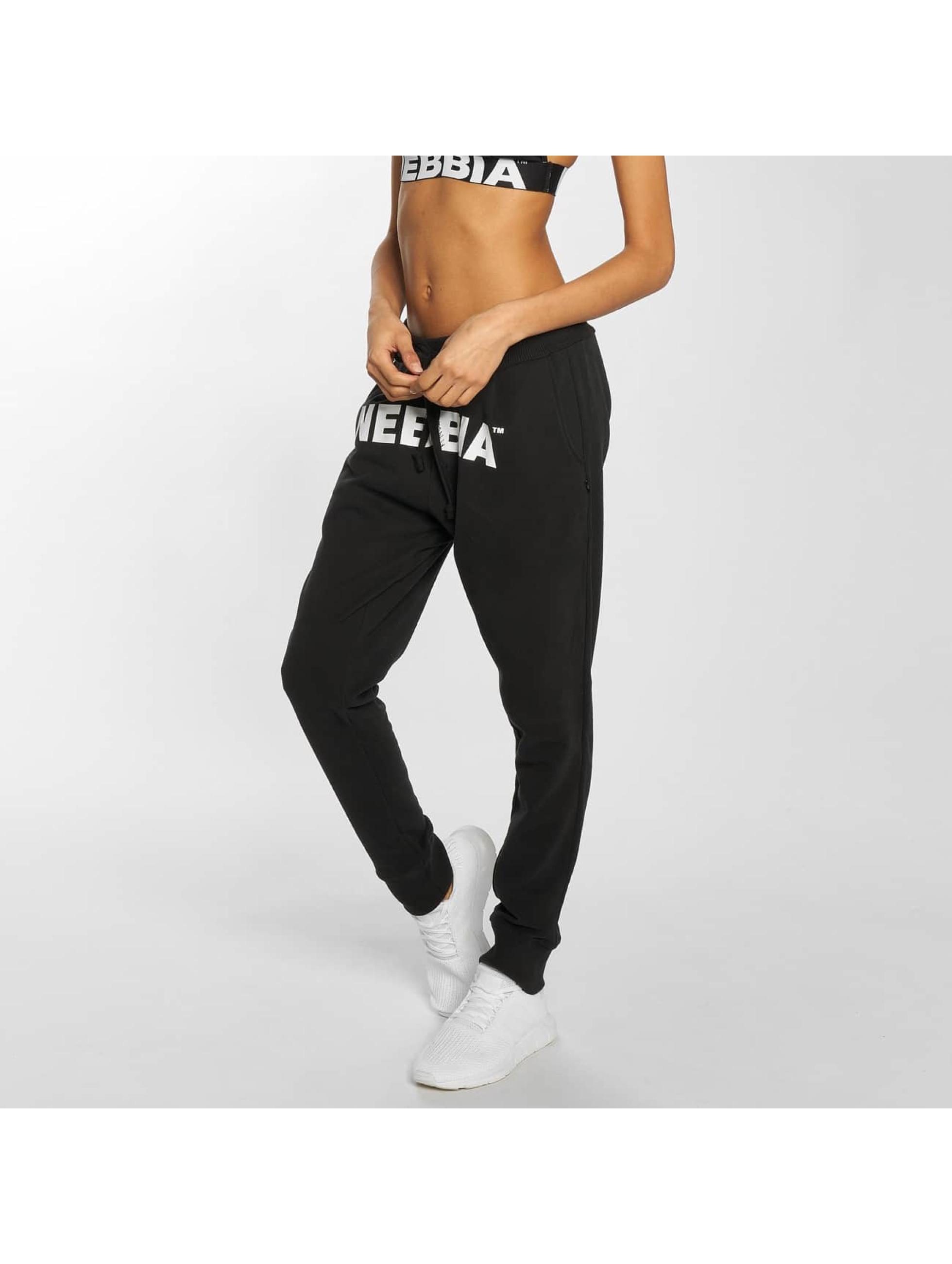 Nebbia Spodnie do joggingu Dropper Croatch czarny