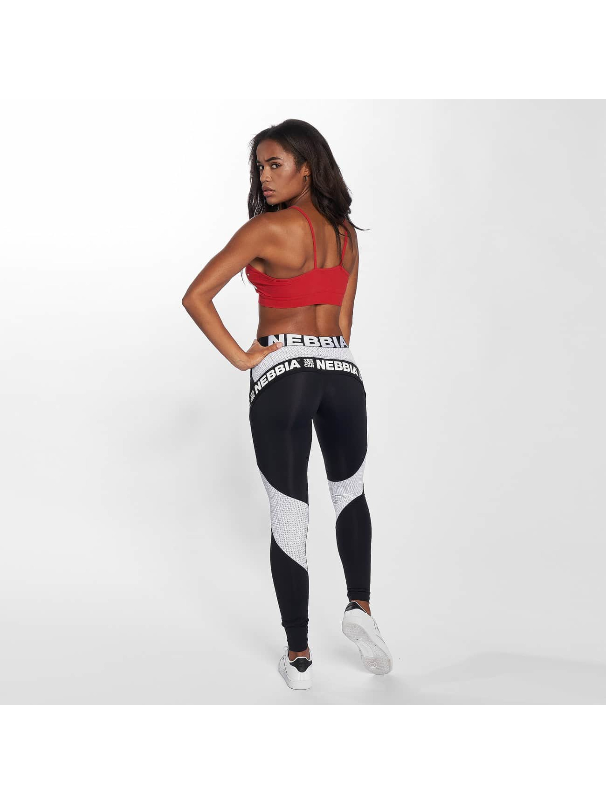Nebbia Sports Bra Logo red