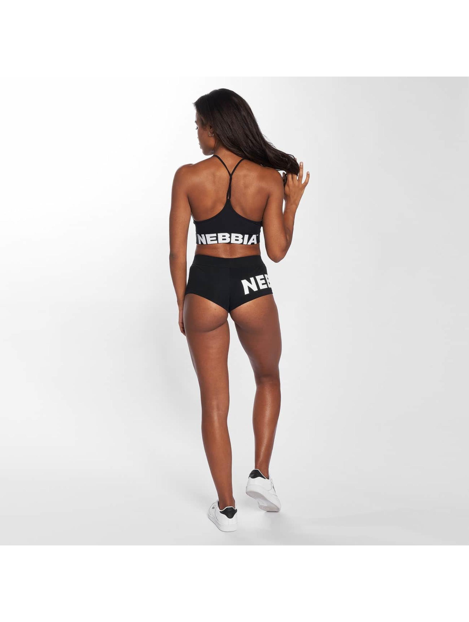 Nebbia T-Shirty Crop czarny