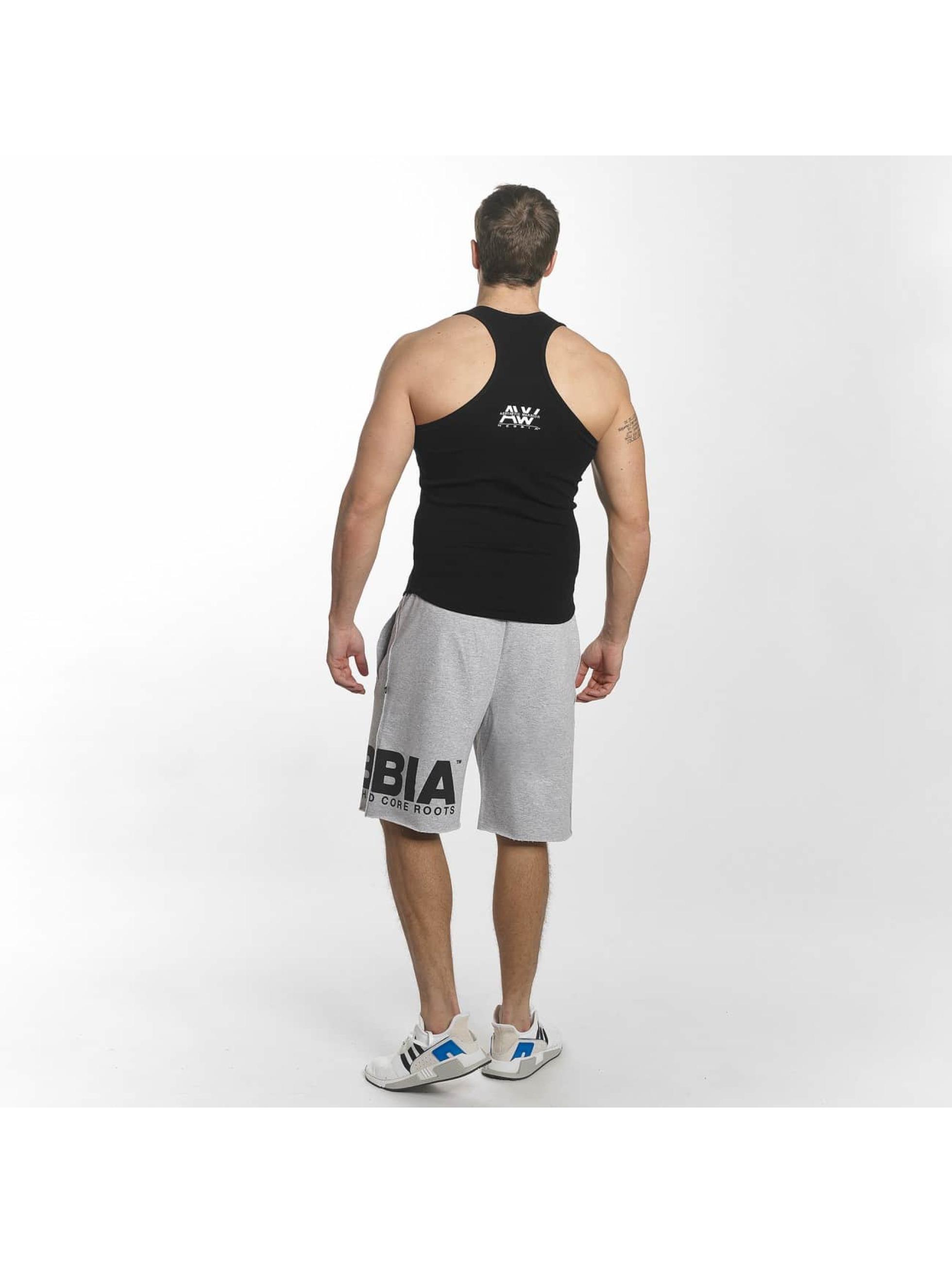 Nebbia Tank Tops Singlet black