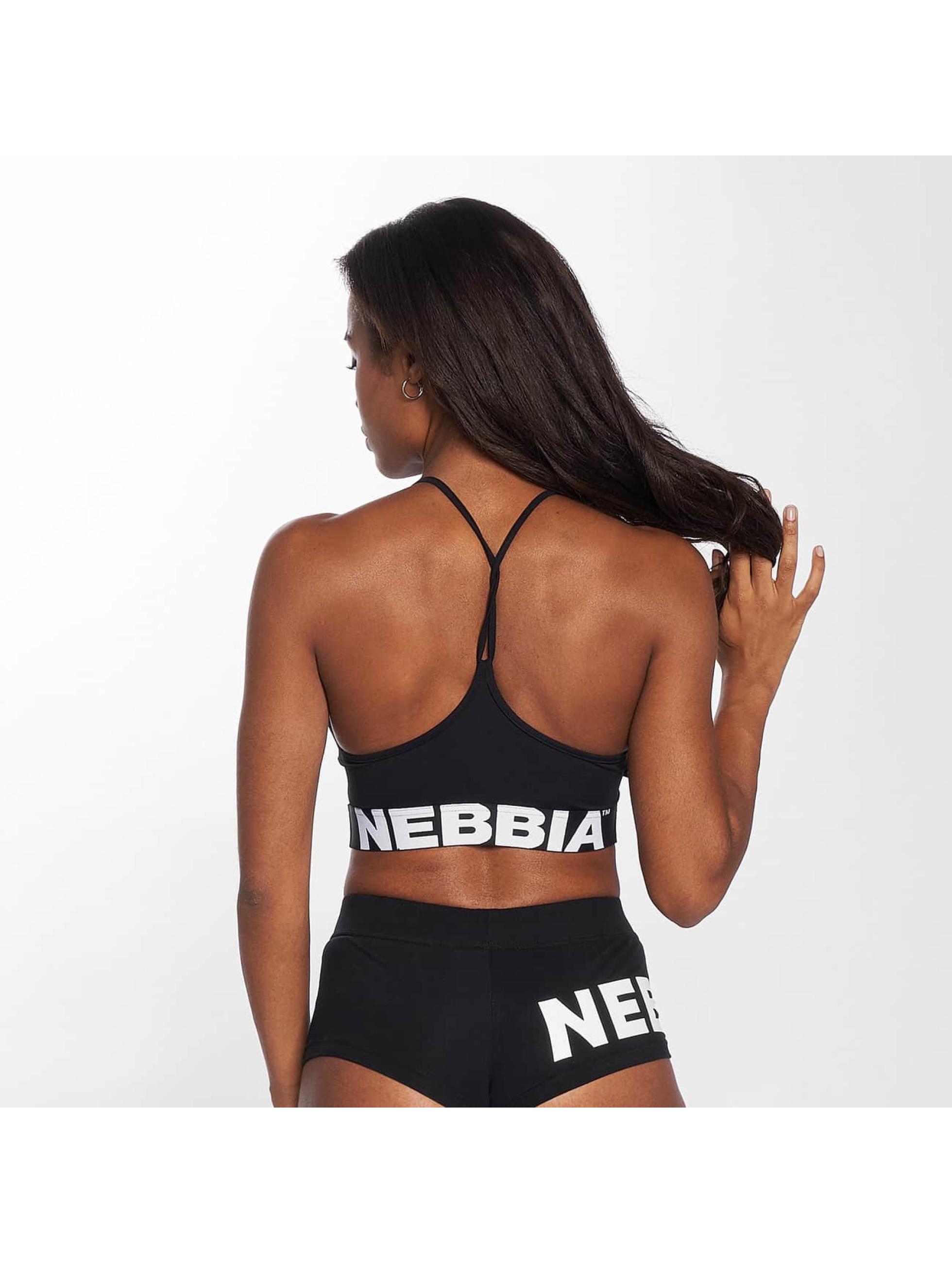 Nebbia Trika Crop čern