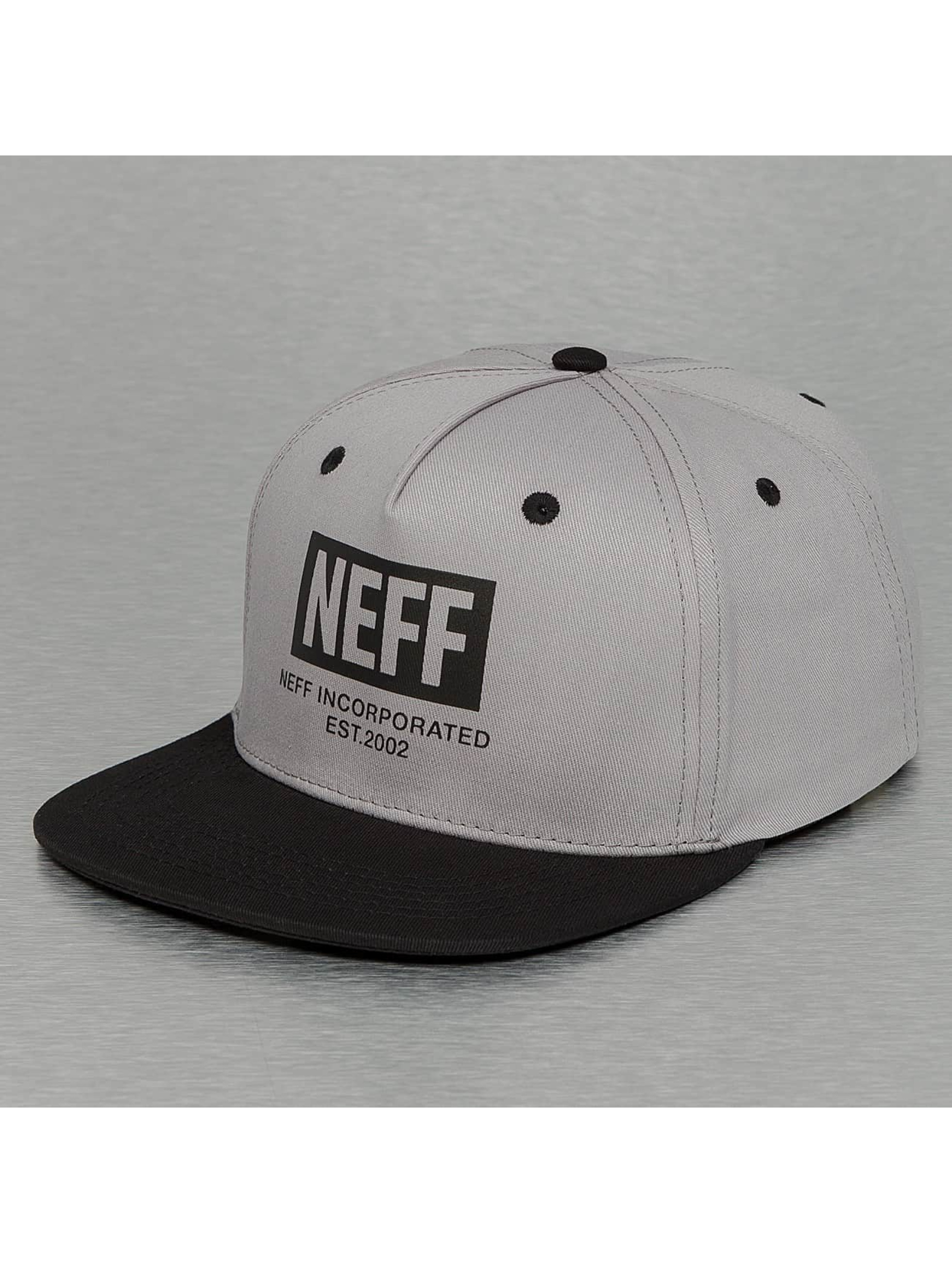 NEFF Кепка с застёжкой New World серый