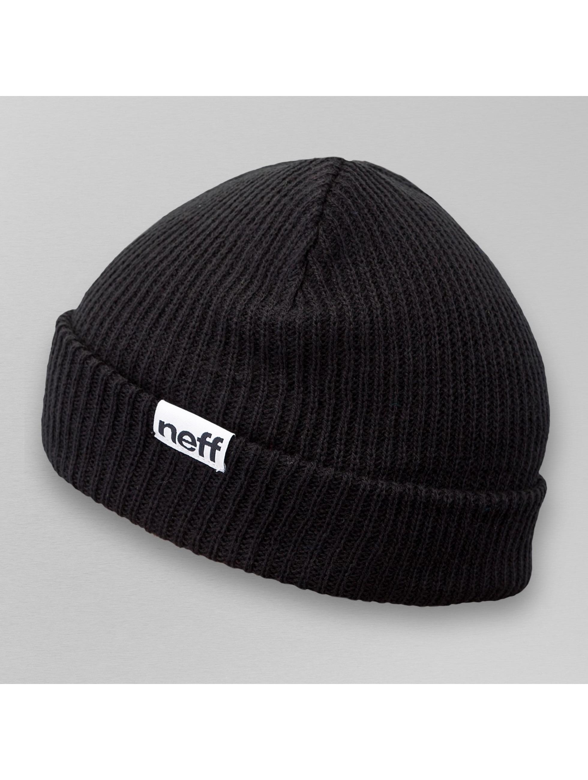 NEFF Beanie Fold schwarz