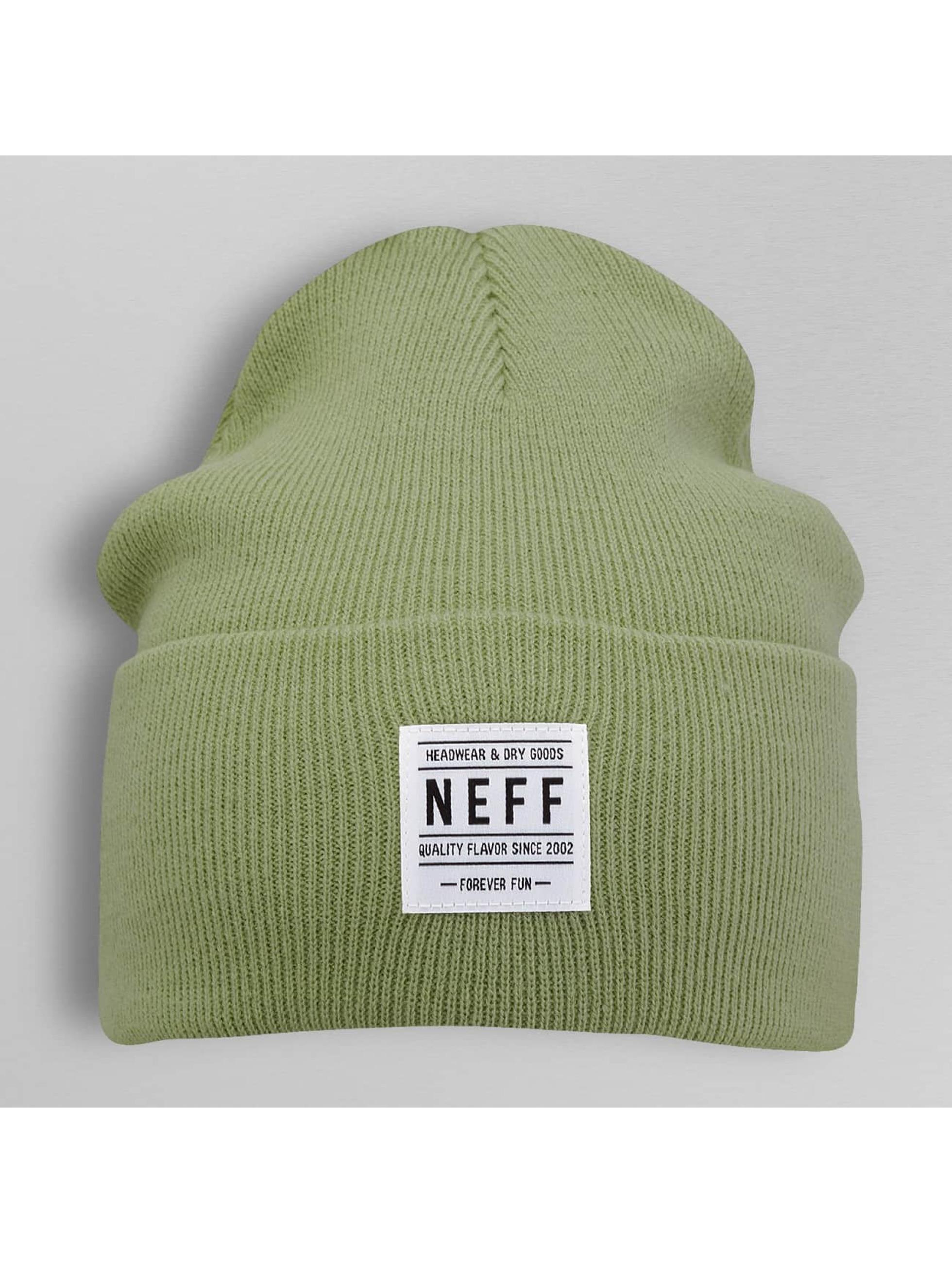 NEFF Czapki Lawrence zielony