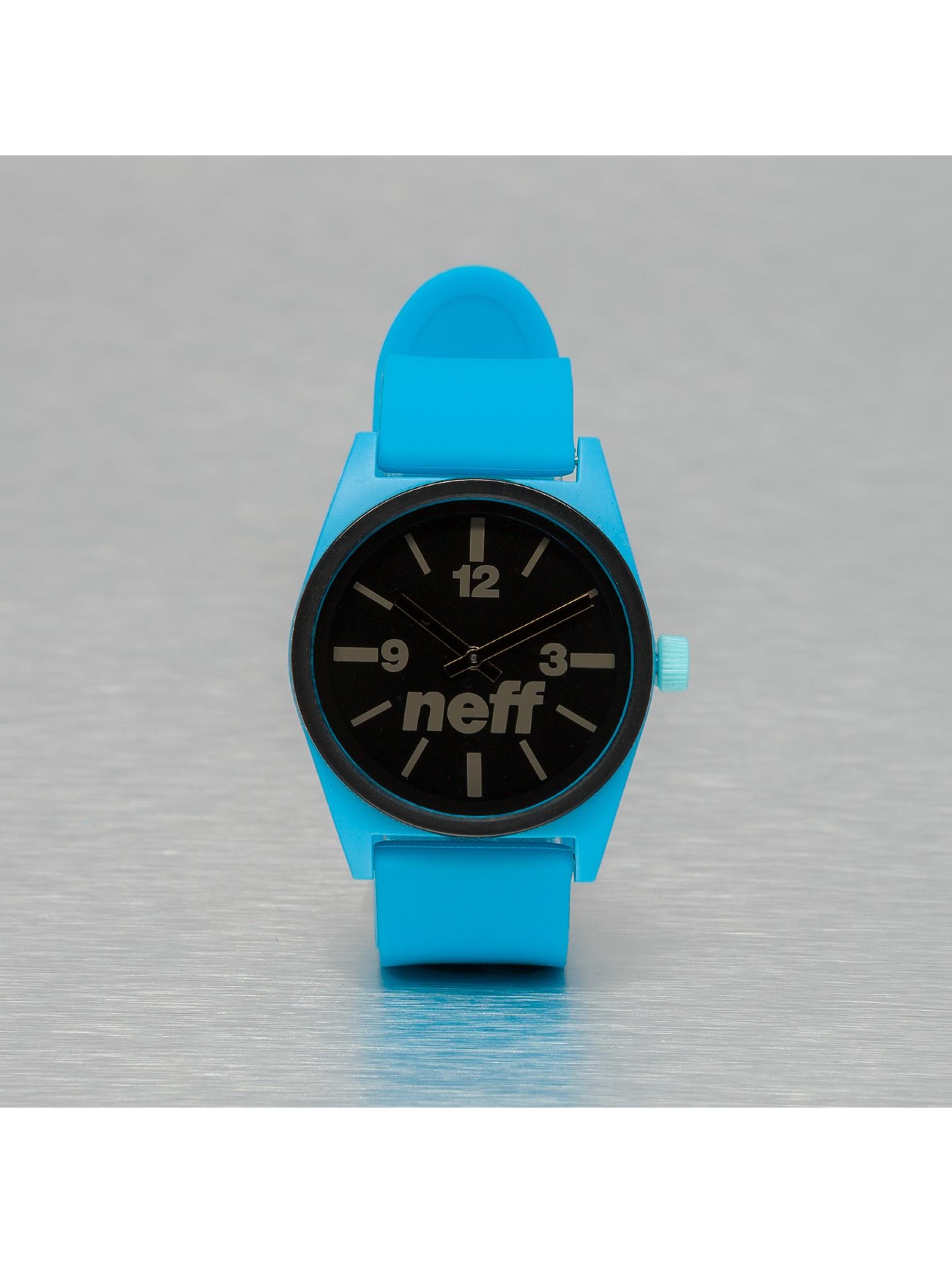 NEFF horloge Deuce blauw