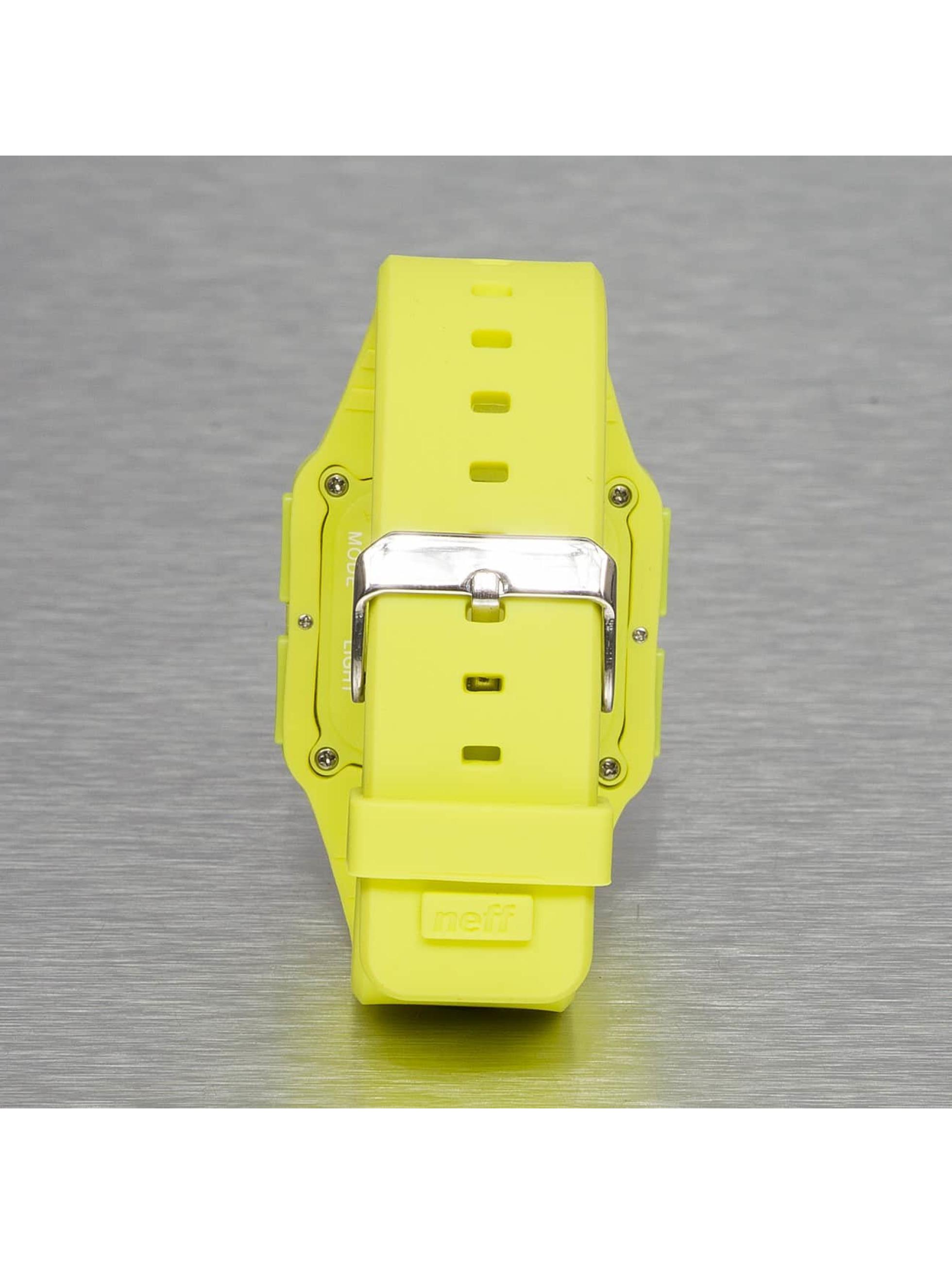 NEFF horloge Odyssey geel