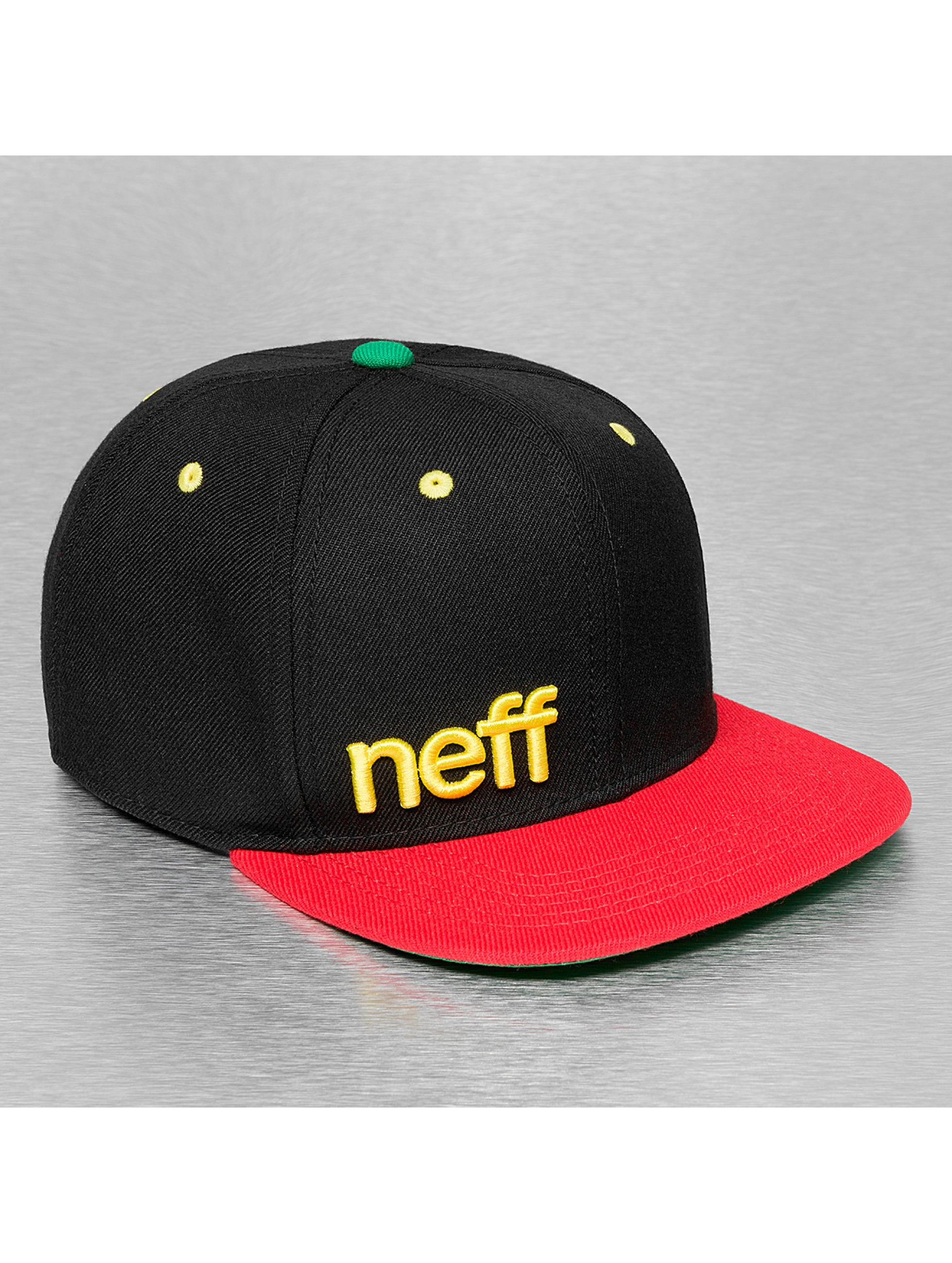 NEFF Snapback Cap Daily schwarz