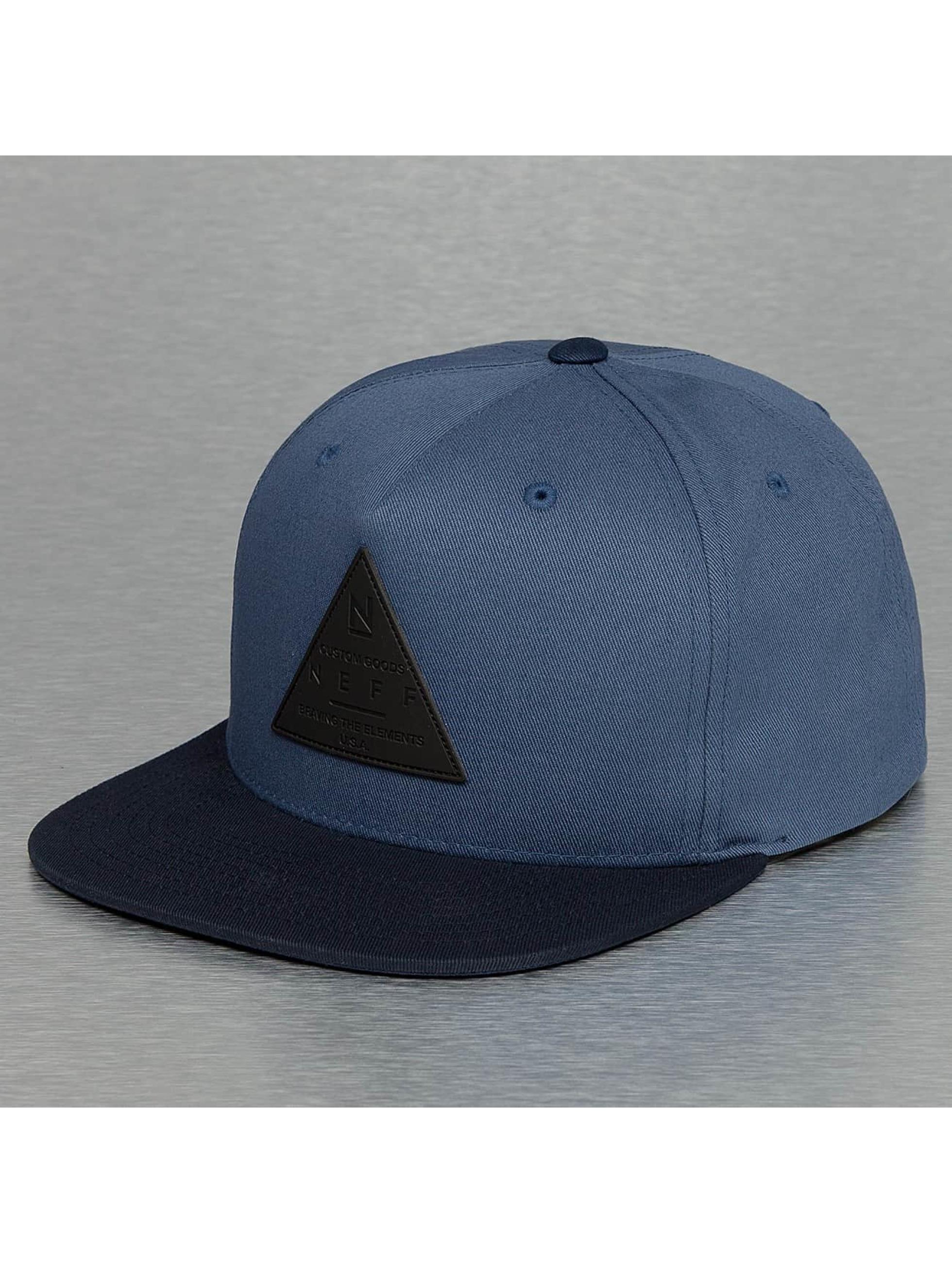 NEFF Snapback X modrá
