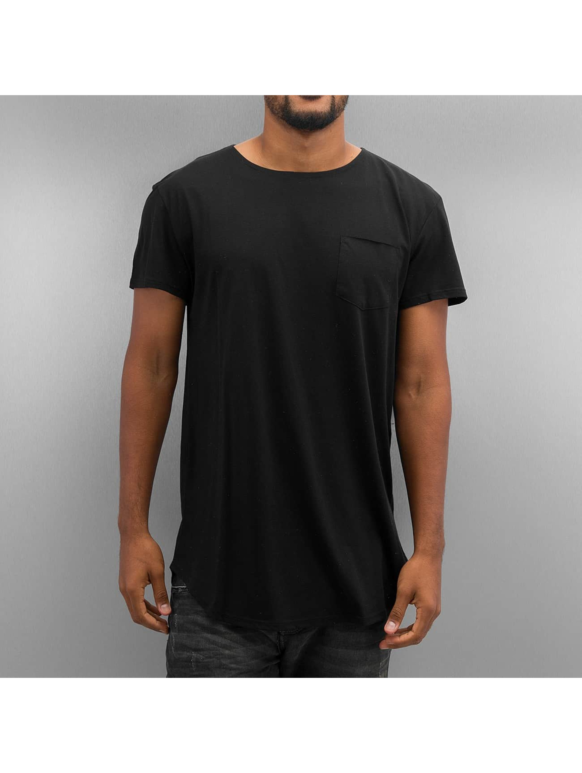 T-Shirt Bosley Pocket in schwarz