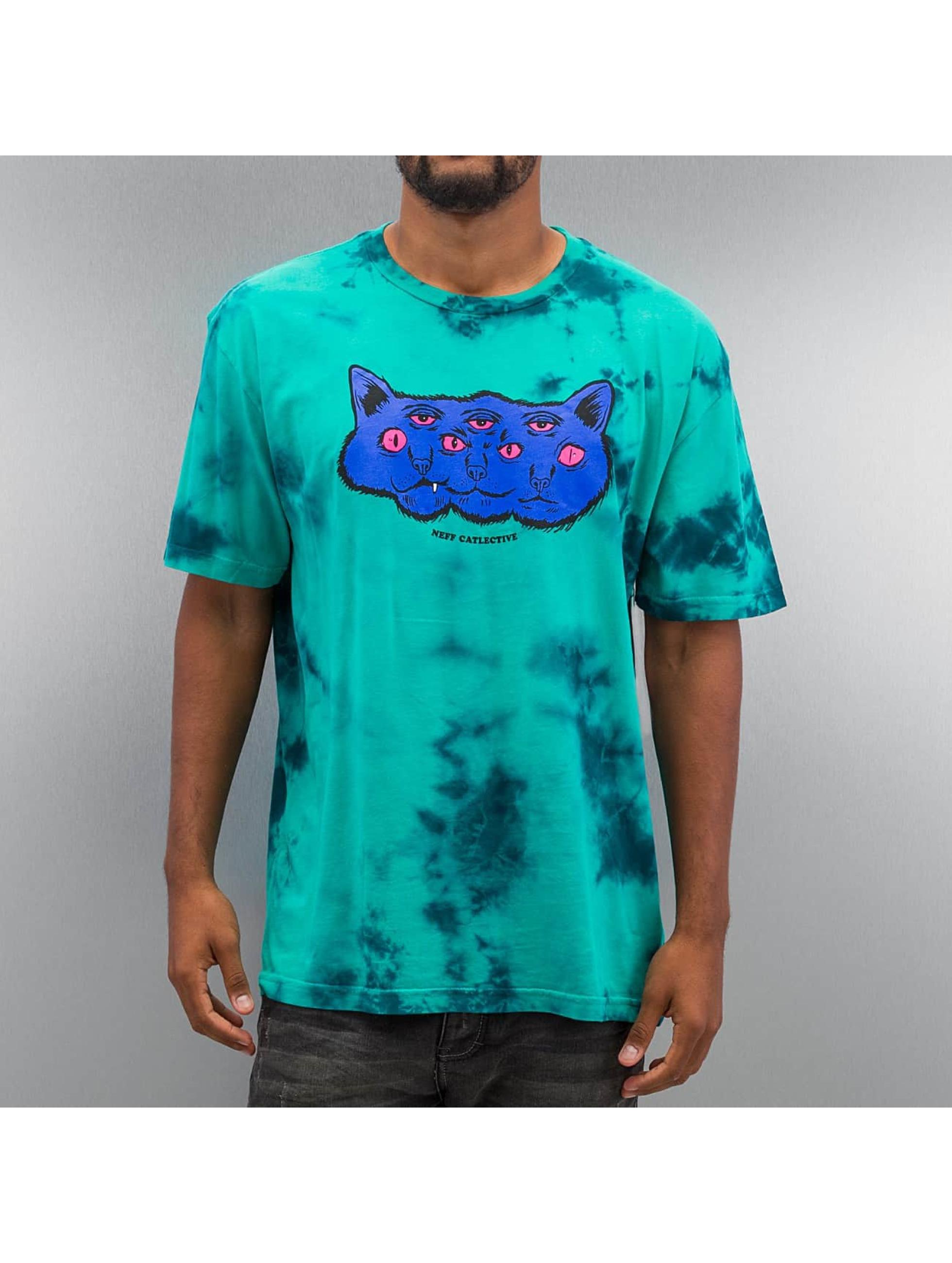 NEFF T-shirt Catlective turkos