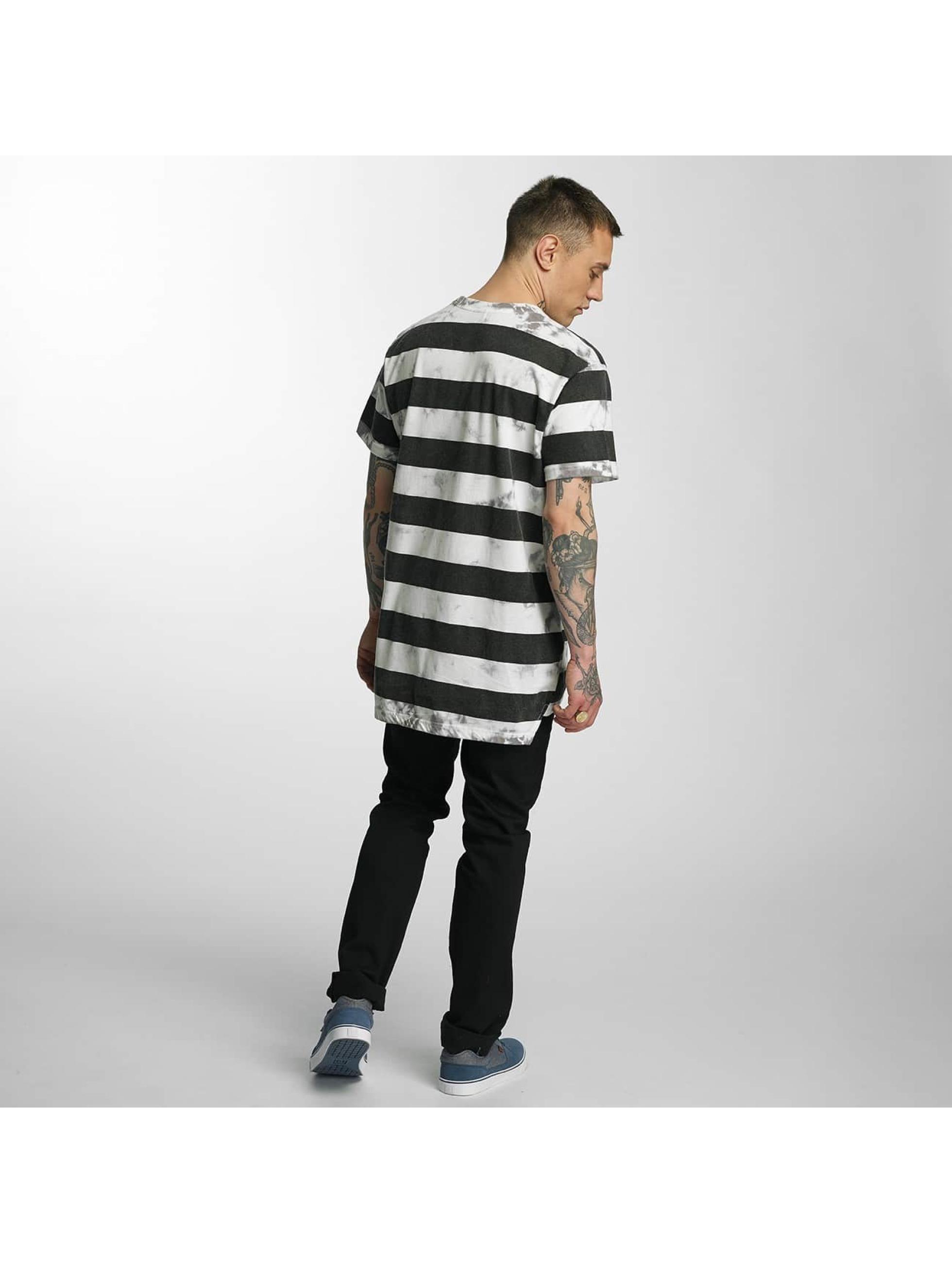 NEFF T-Shirt Christoph Washed Strip white