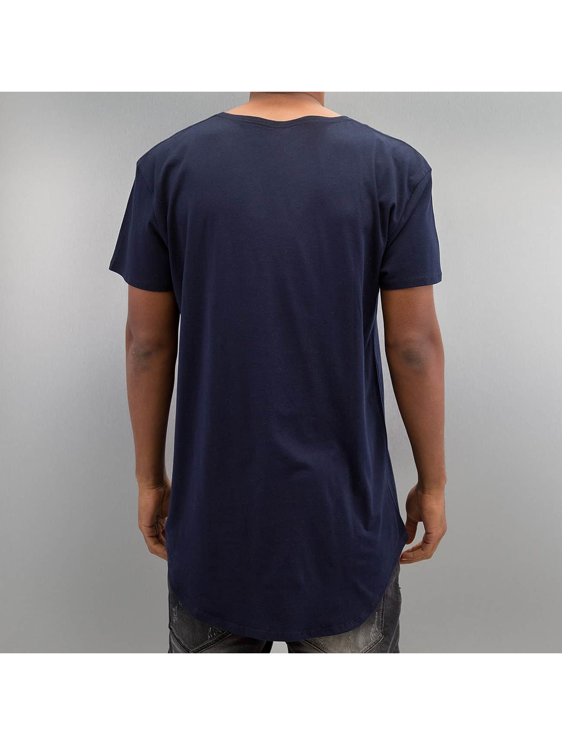 NEFF T-Shirty Bosley Pocket niebieski