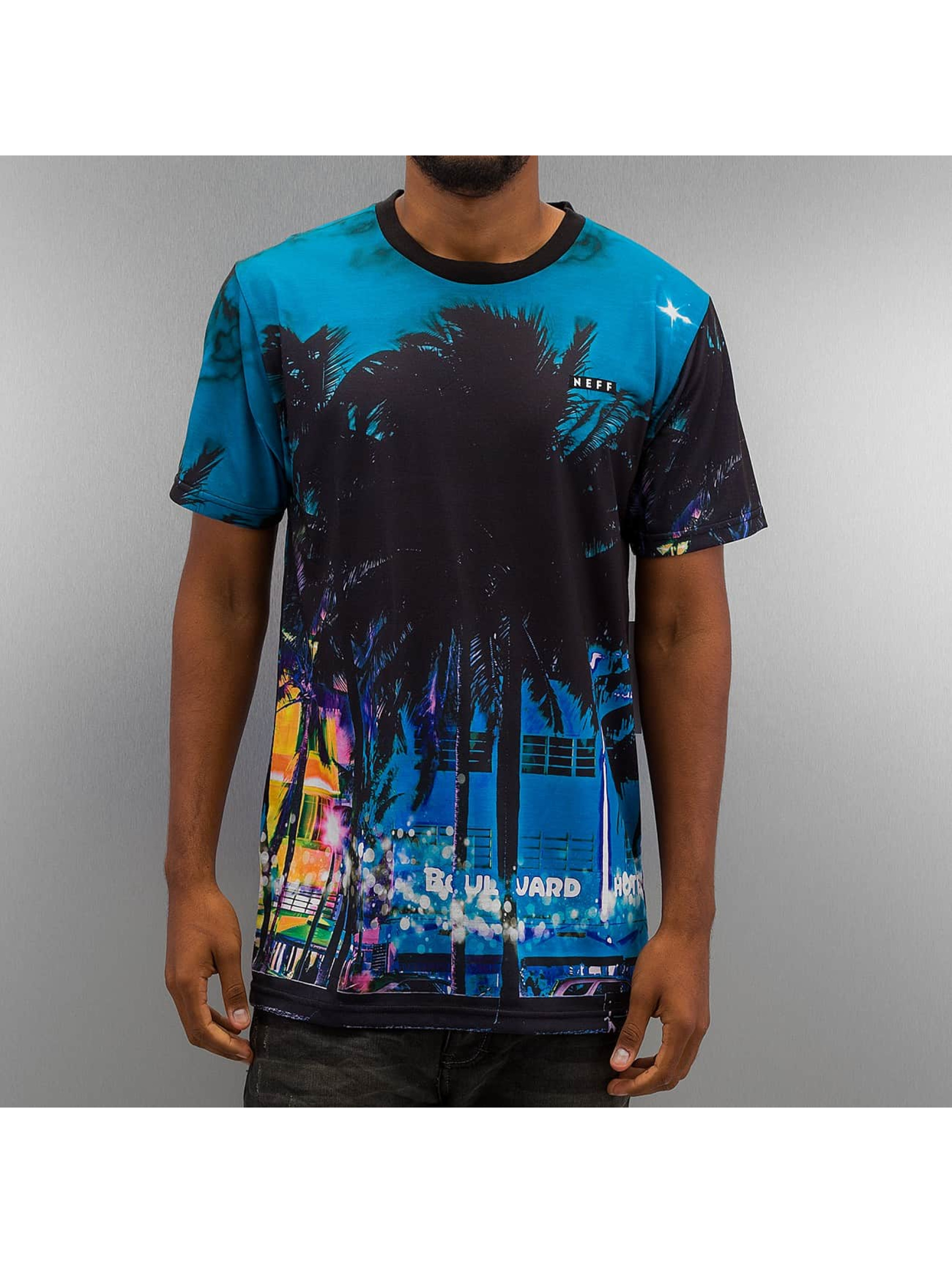 NEFF T-skjorter City Streets mangefarget