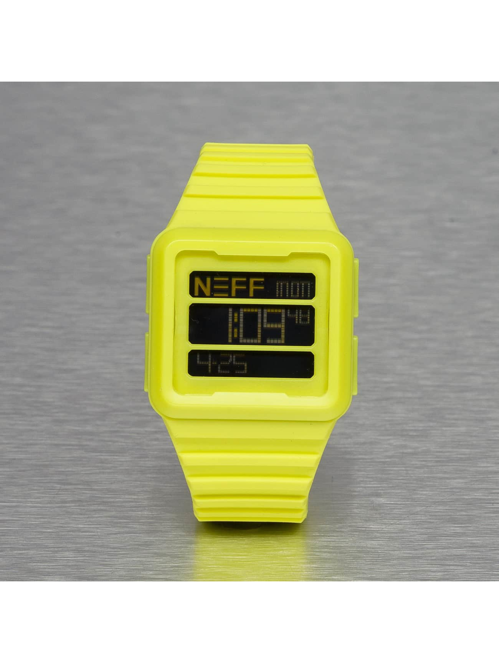 NEFF Uhr Odyssey gelb