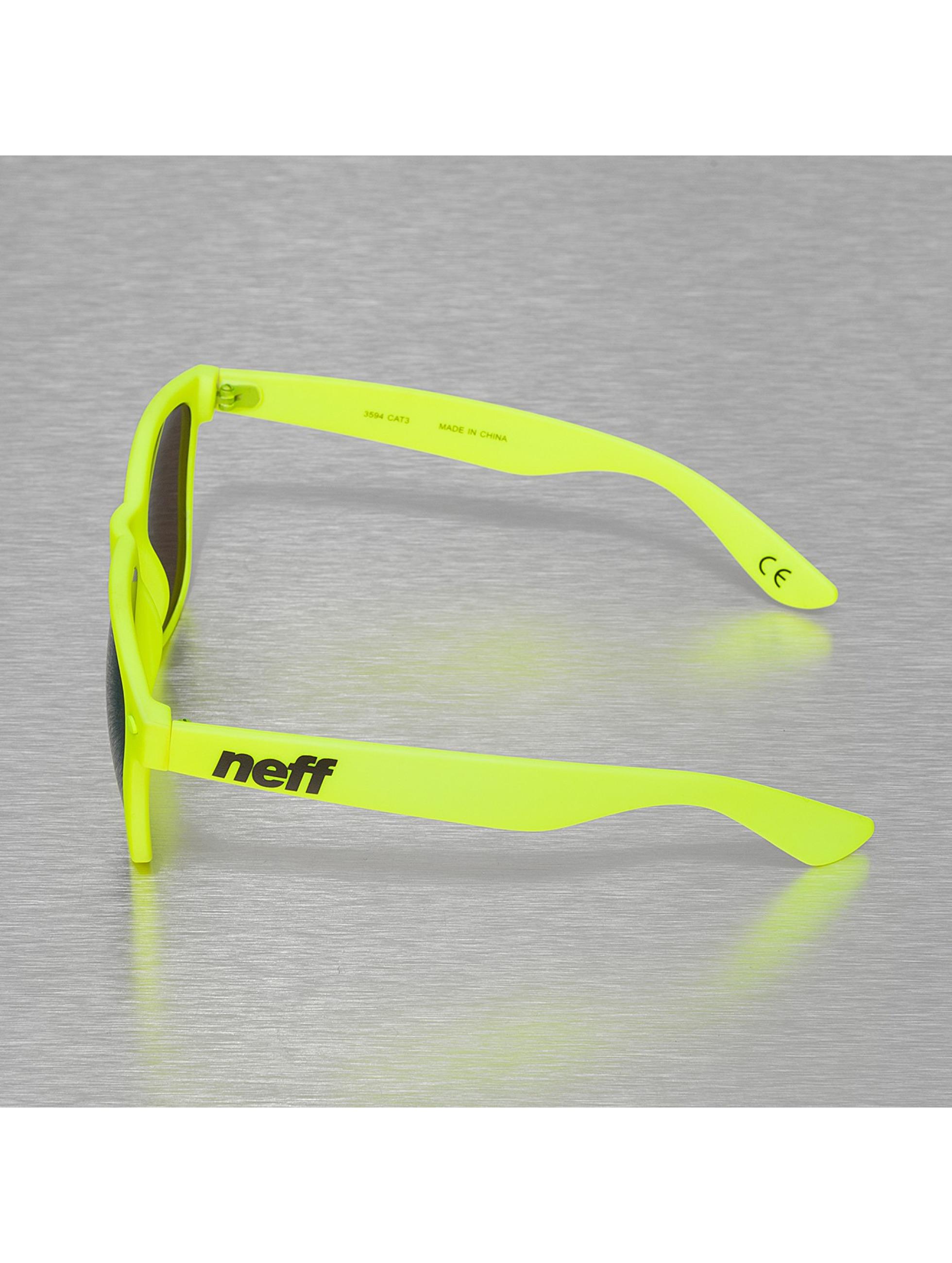 NEFF Zonnebril Daily geel
