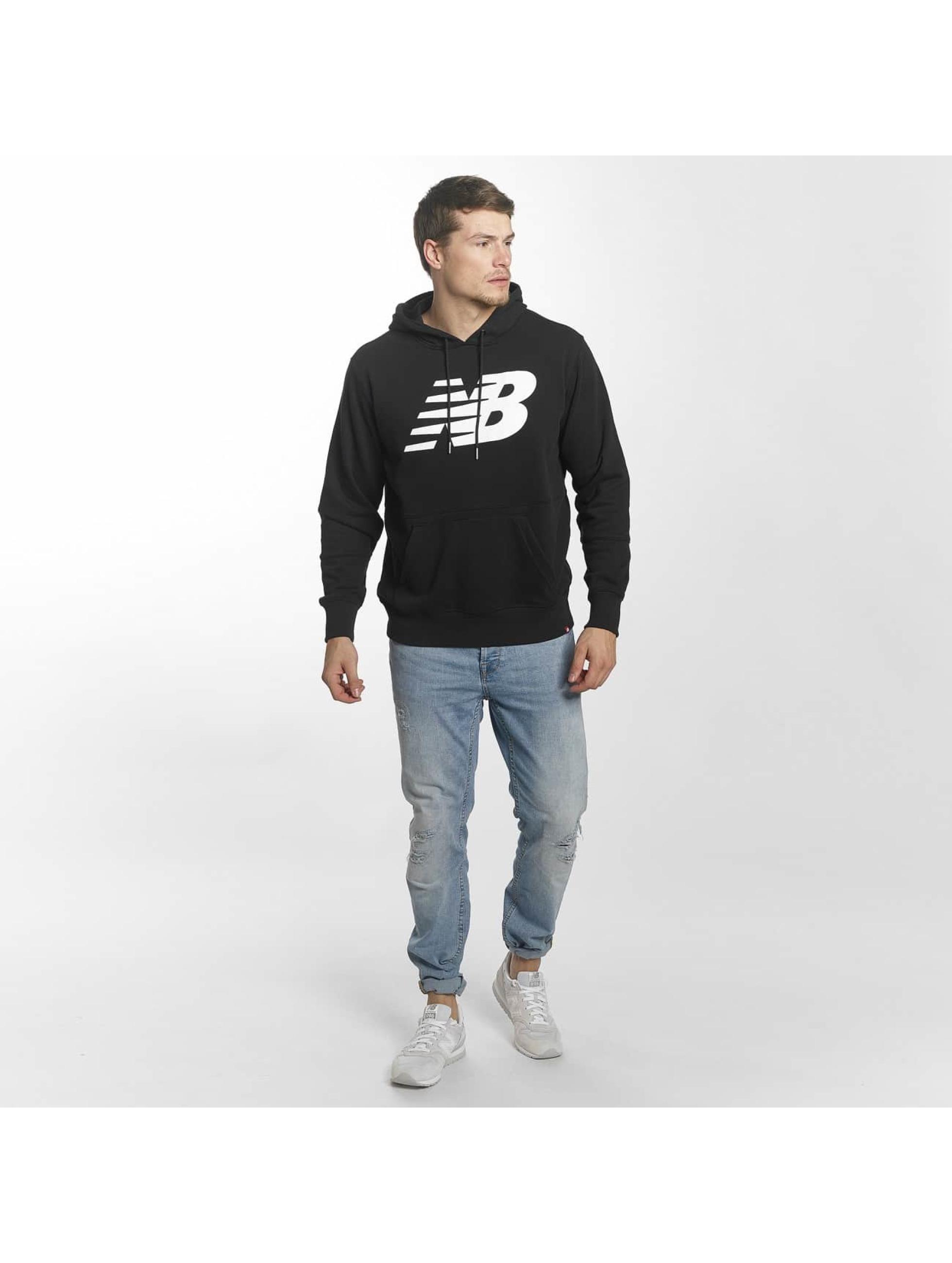 New Balance Bluzy z kapturem MT81557 Essentials czarny