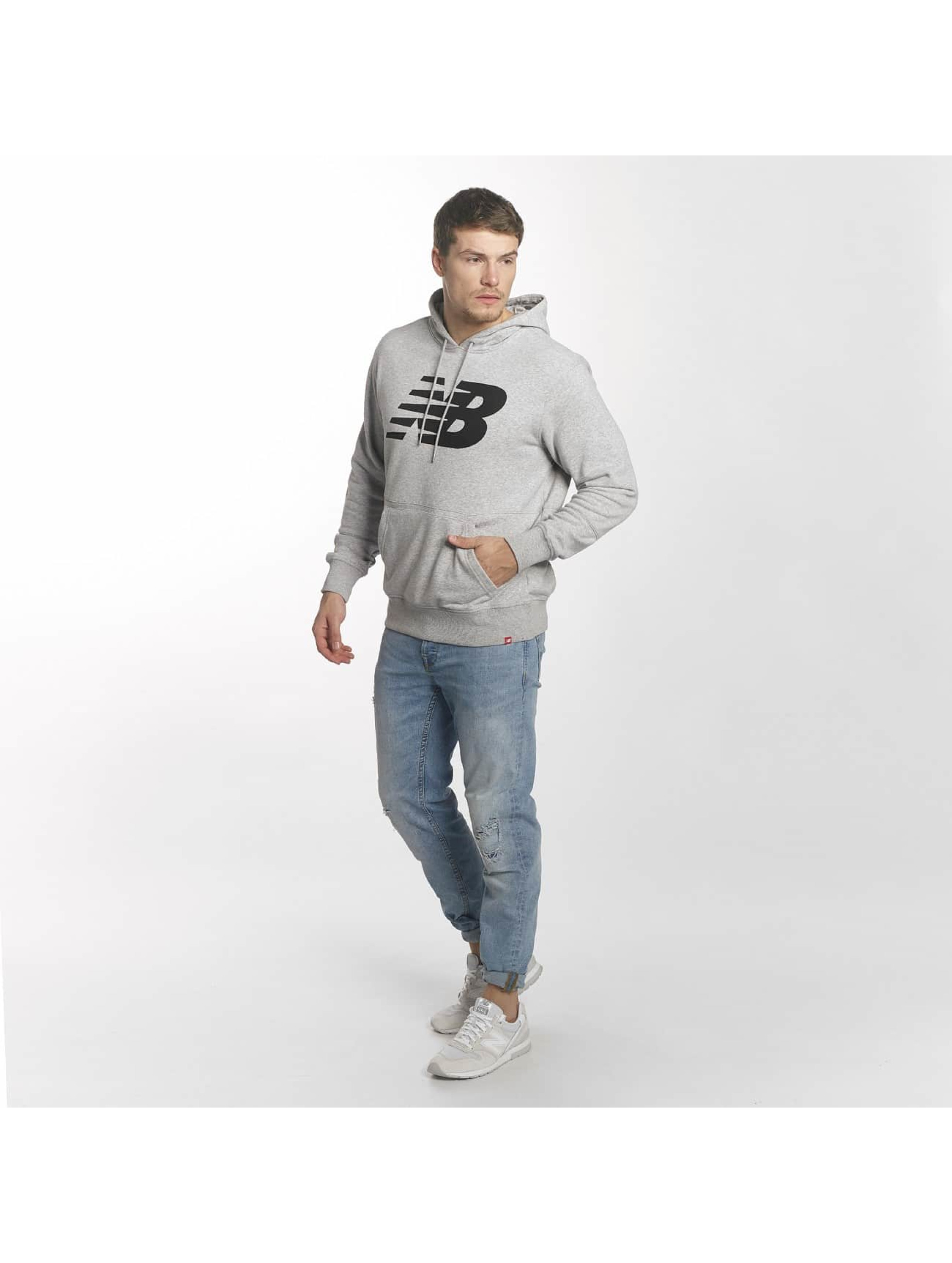 New Balance Bluzy z kapturem MT81557 Essentials szary
