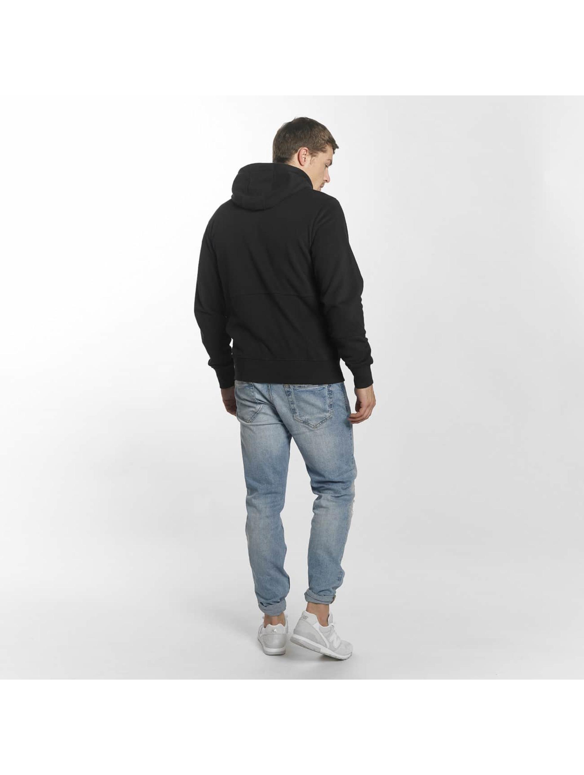 New Balance Sweat capuche zippé MJ81508 noir
