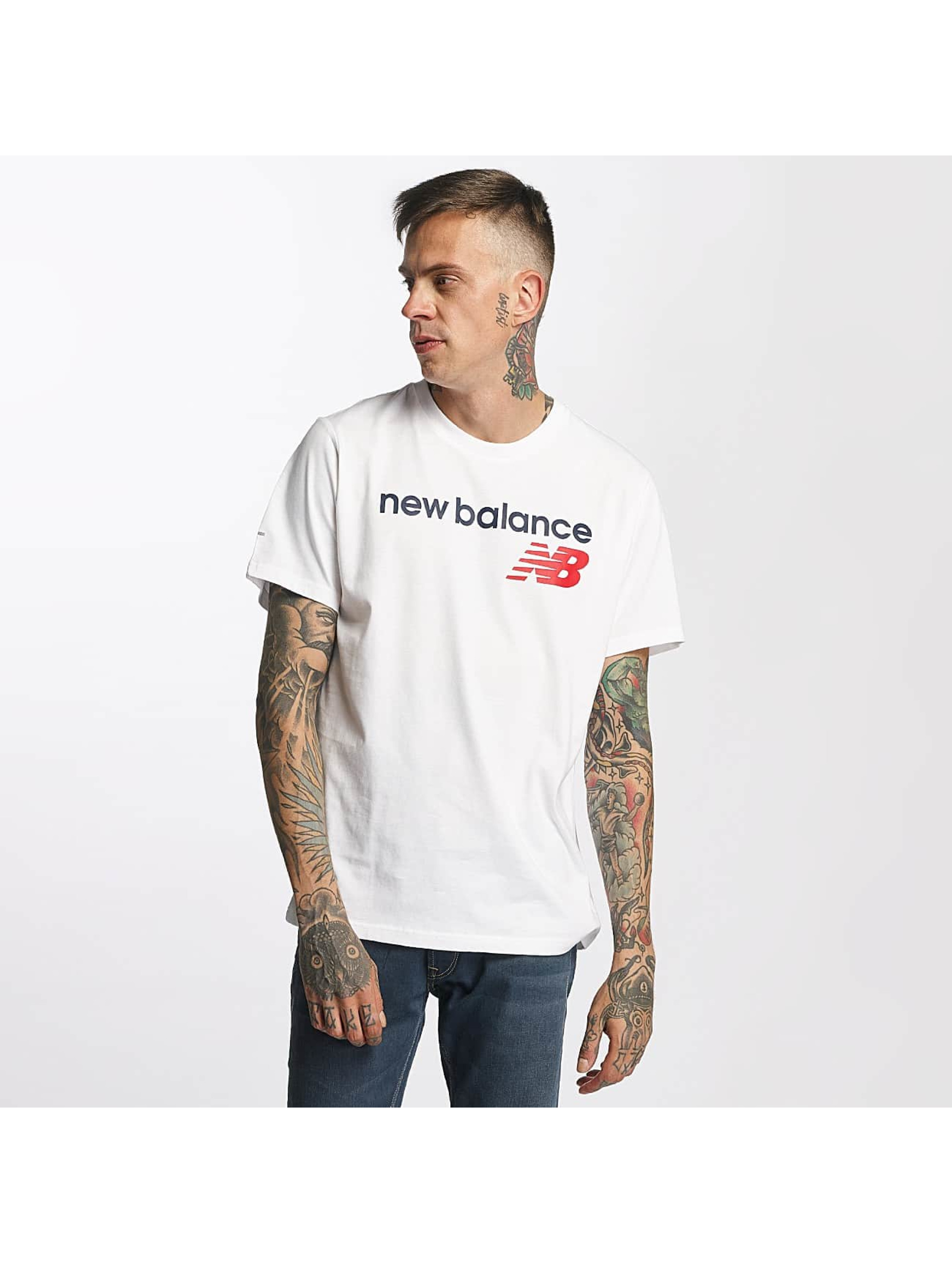 T-Shirt New Balance Athletic Main LG en blanc