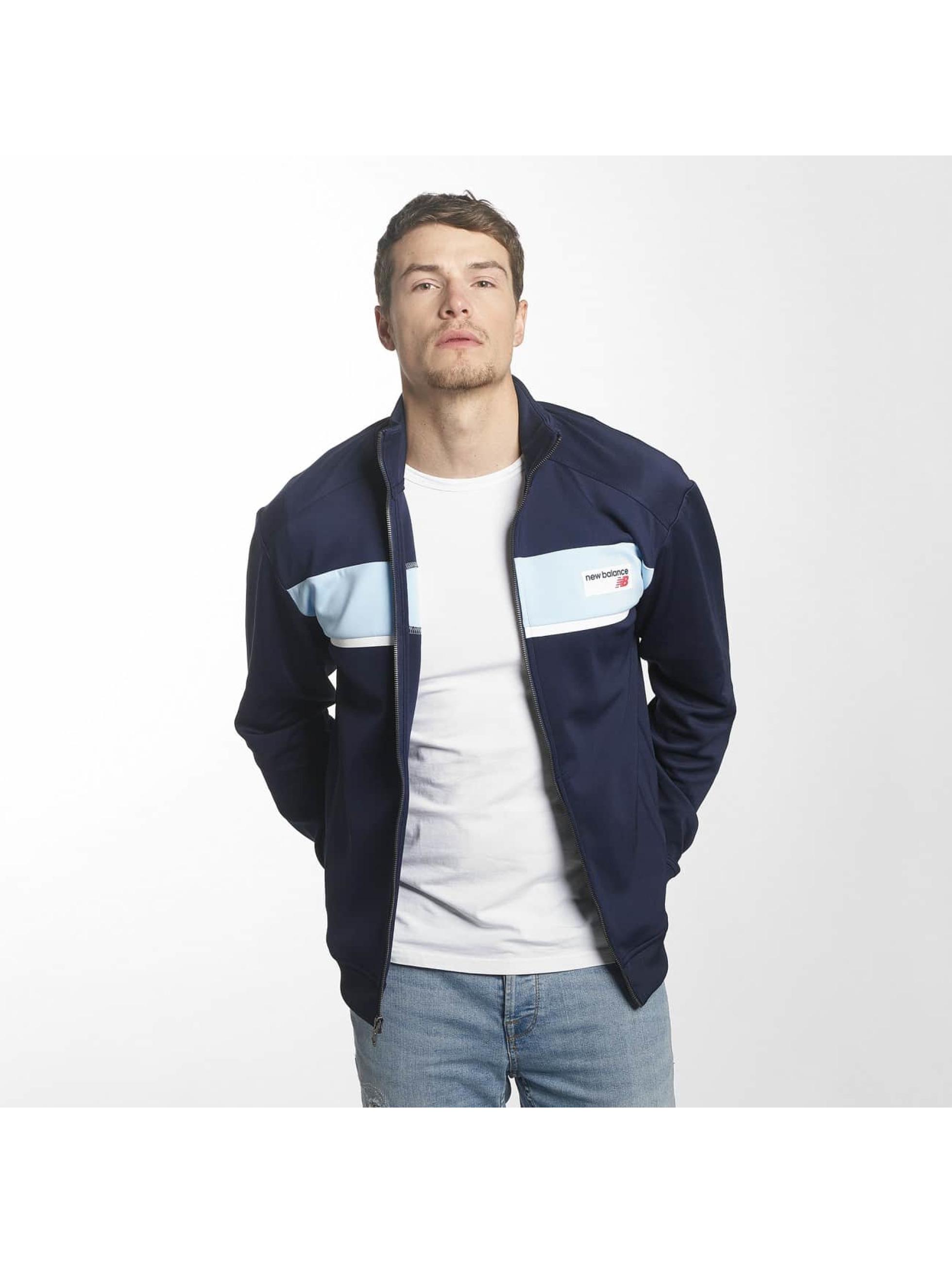 New Balance Transitional Jackets MJ81551 Athletics blå