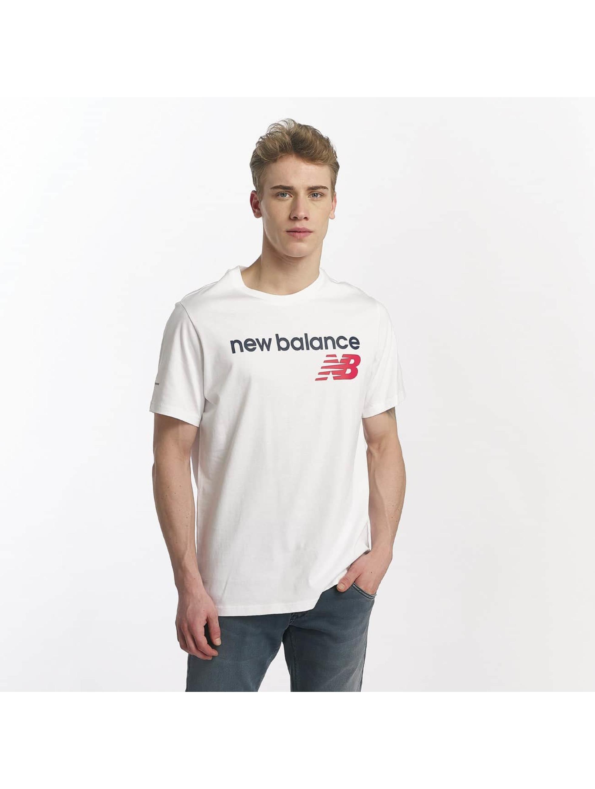 New Balance Tričká MT73581 biela