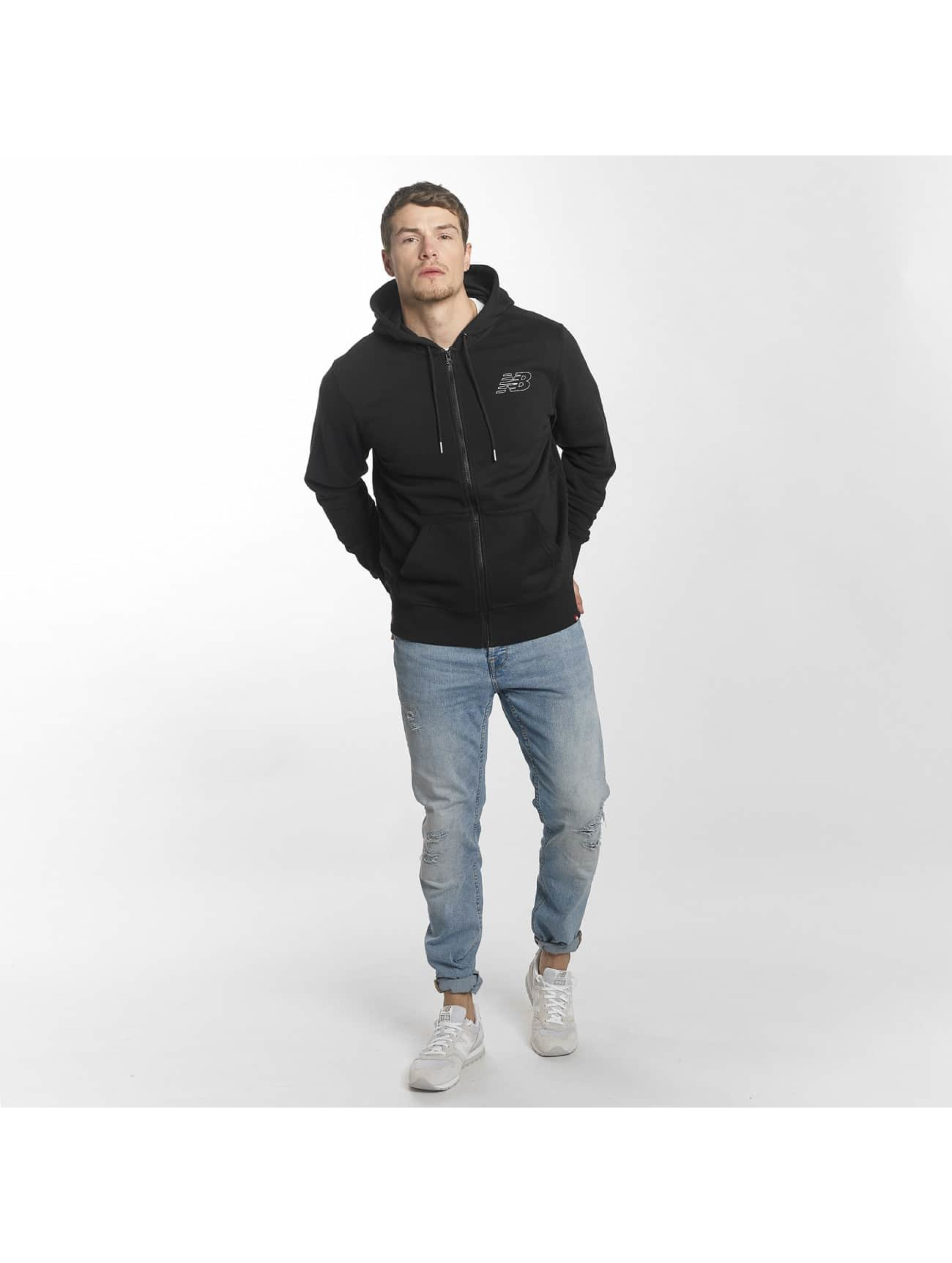New Balance Zip Hoodie MJ81508 czarny