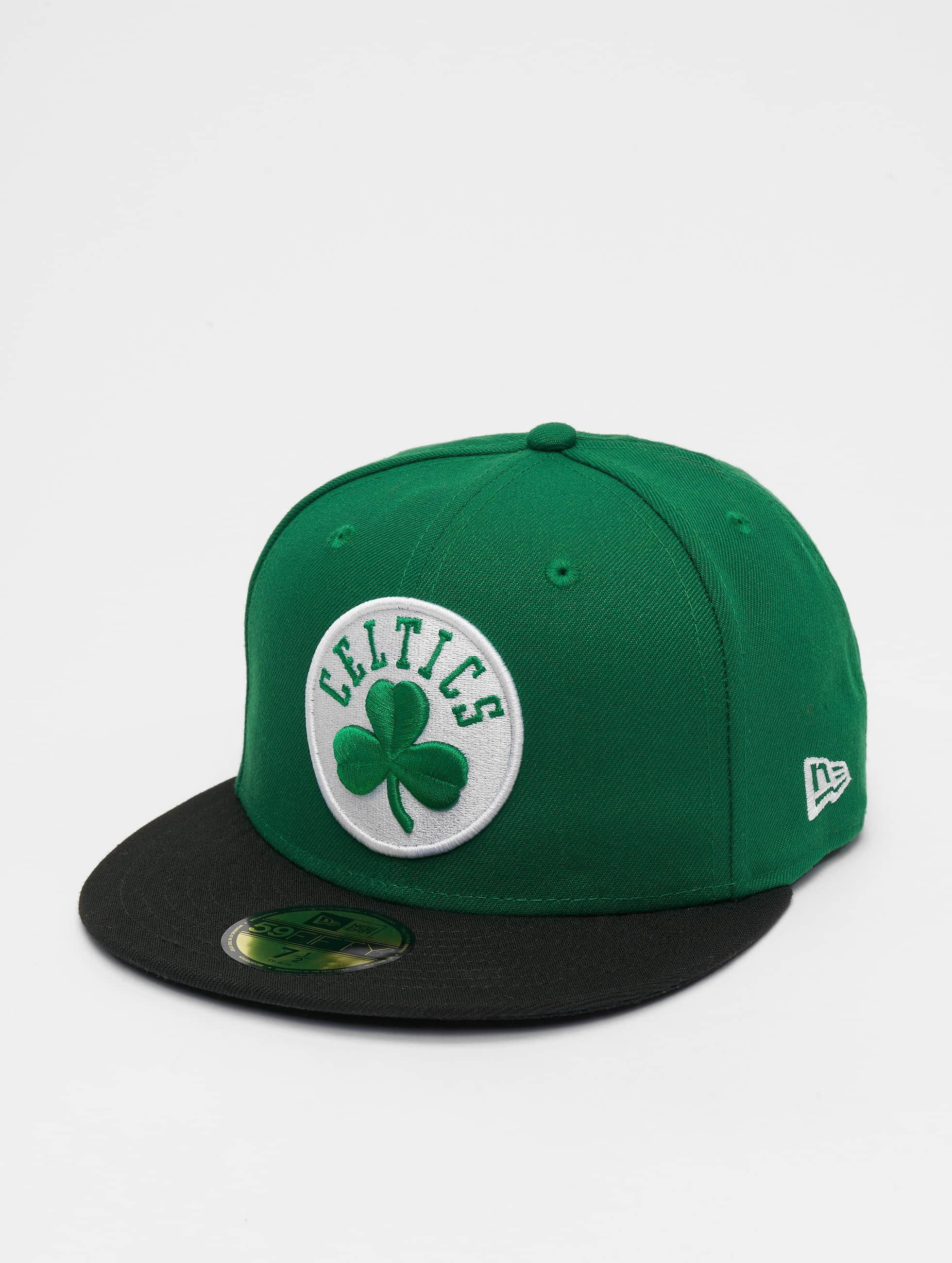 New Era Бейсболка NBA Basic Boston Celtics 59Fifty зеленый