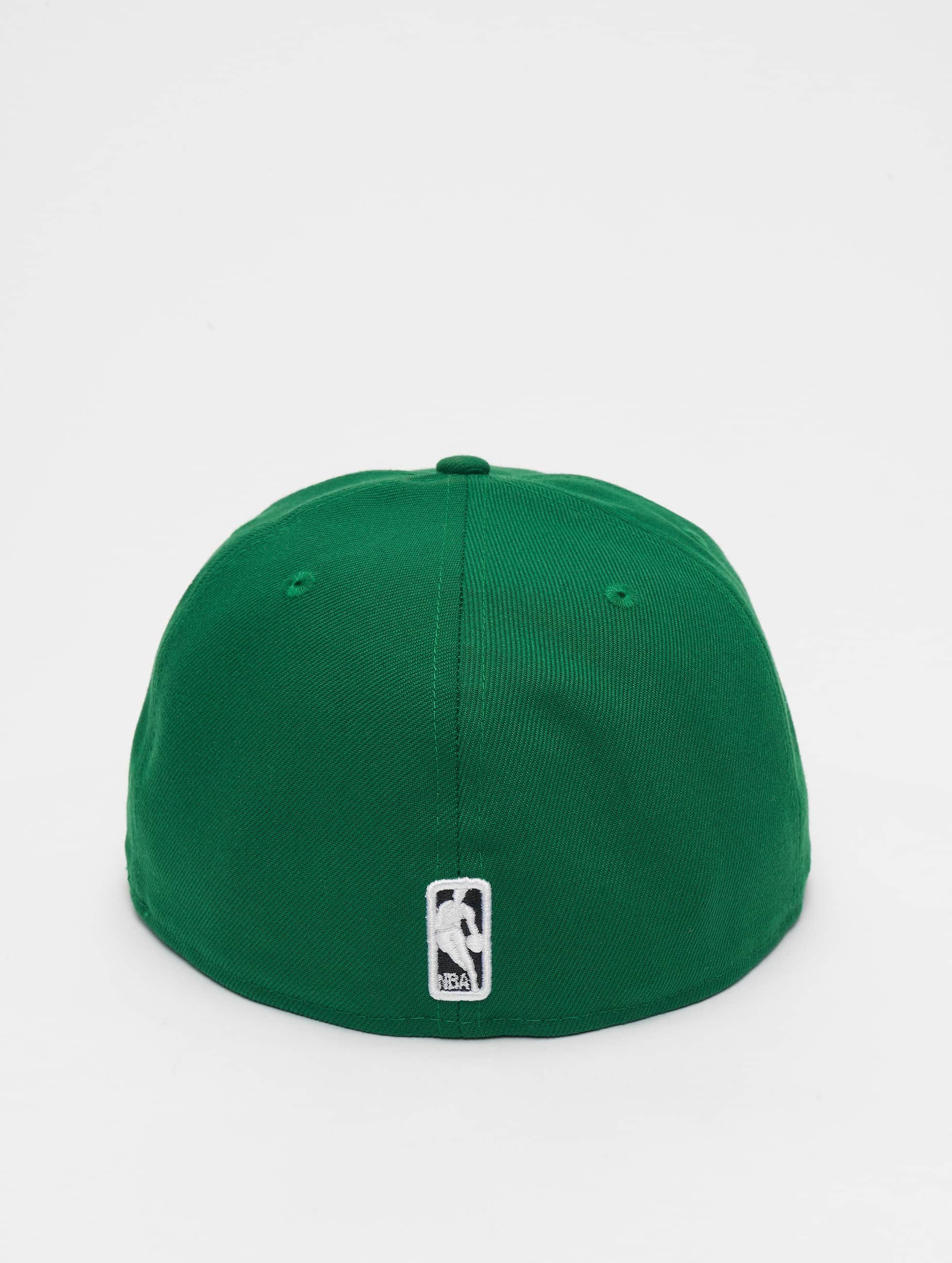 New Era Бейсболка NBA Basic Boston Celtics 59Fifty зеленый
