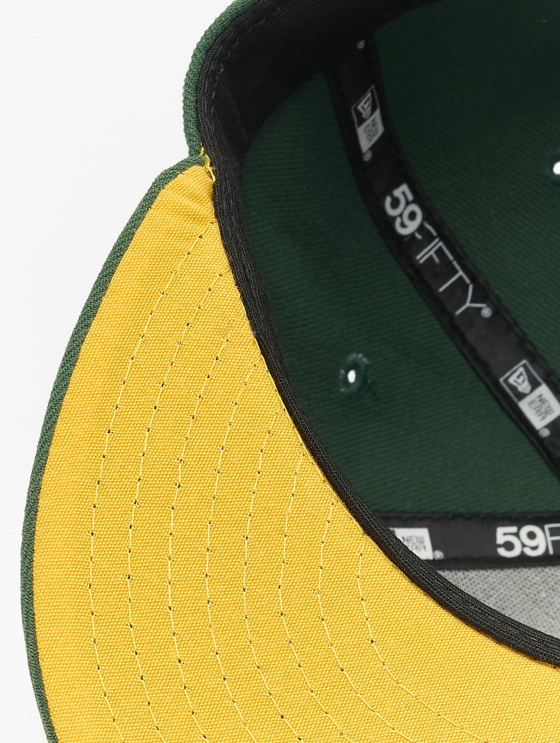New Era Бейсболка NFL On Field Green Bay Packers 59Fifty зеленый
