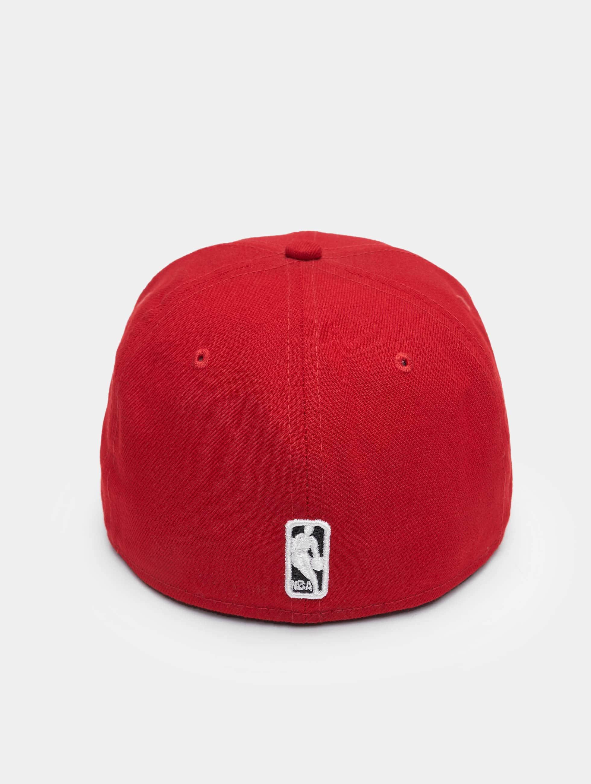 New Era Бейсболка NBA Basic Chicago Bulls 59Fifty красный