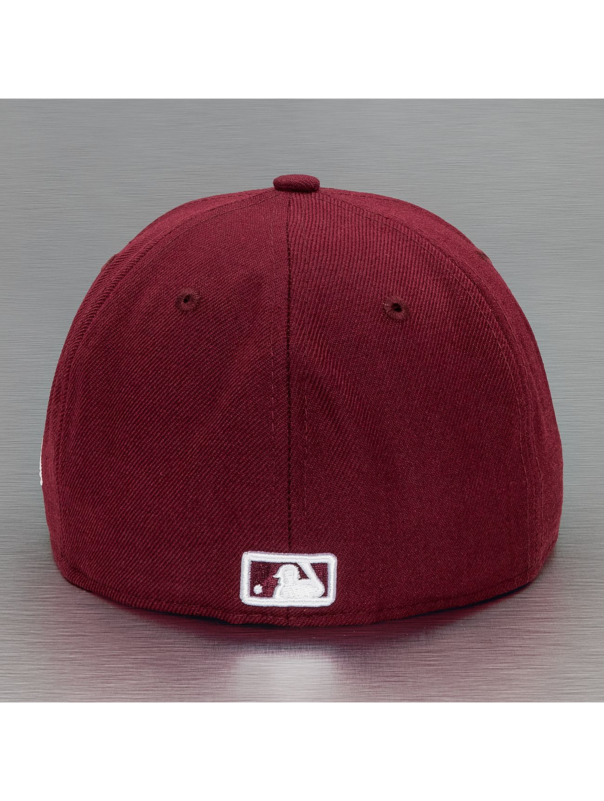 New Era Бейсболка League Basic Atlanta Braves красный