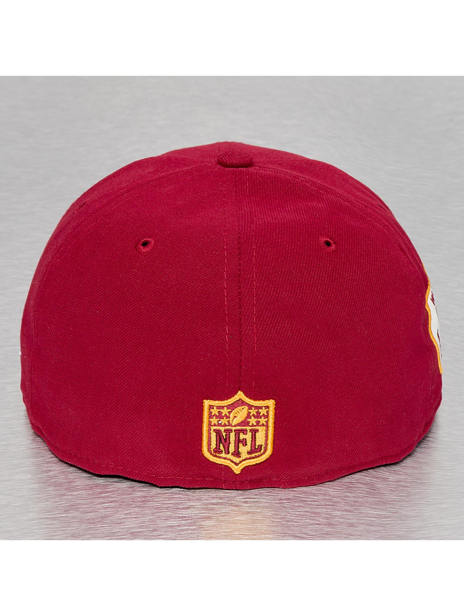 New Era Бейсболка Team Patch Washington Redskins красный
