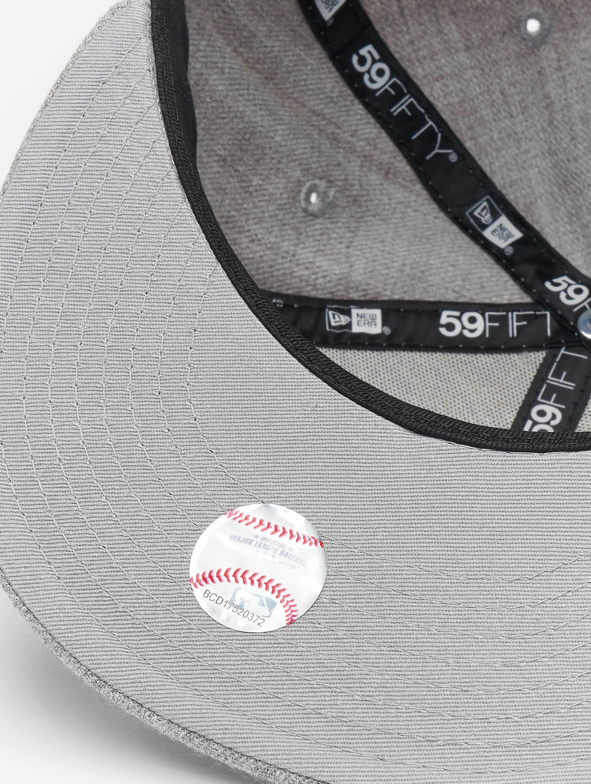New Era Бейсболка MLB League Basic NY Yankees 59Fifty серый