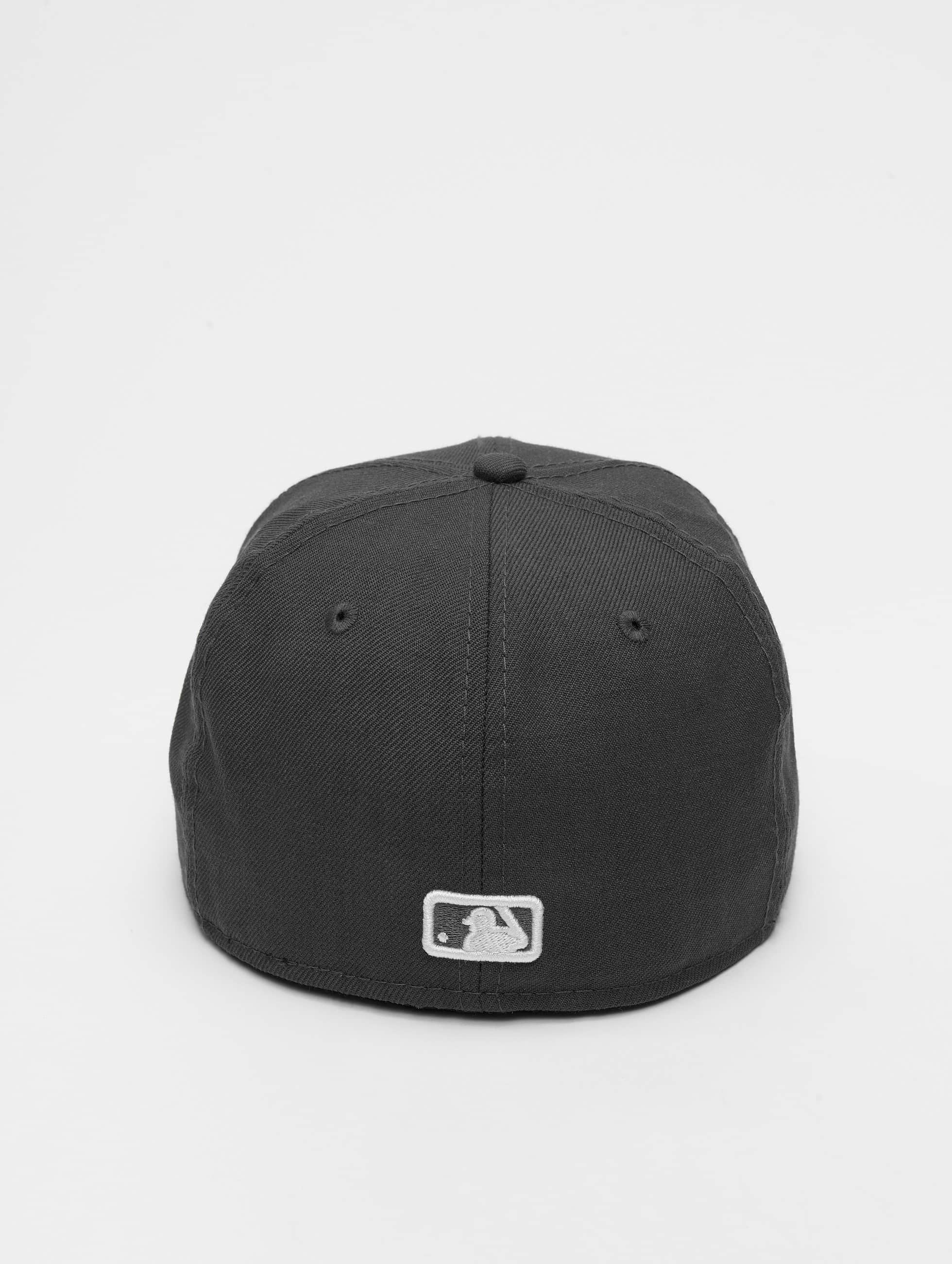 New Era Бейсболка MLB Basic NY Yankees 59Fifty серый