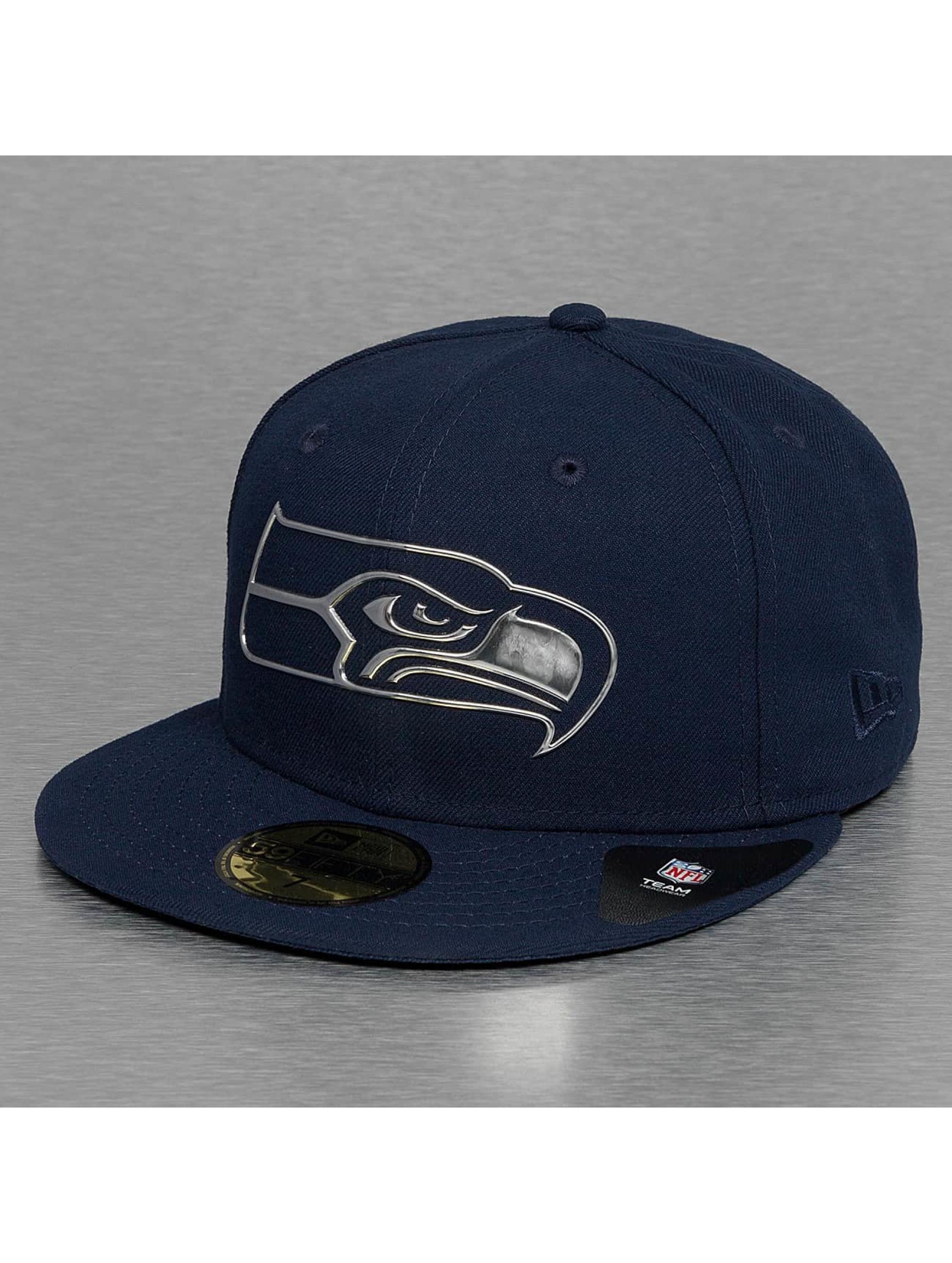 New Era Бейсболка Ne Remix Liquid Logo Seattle Seahawks 59Fifty синий