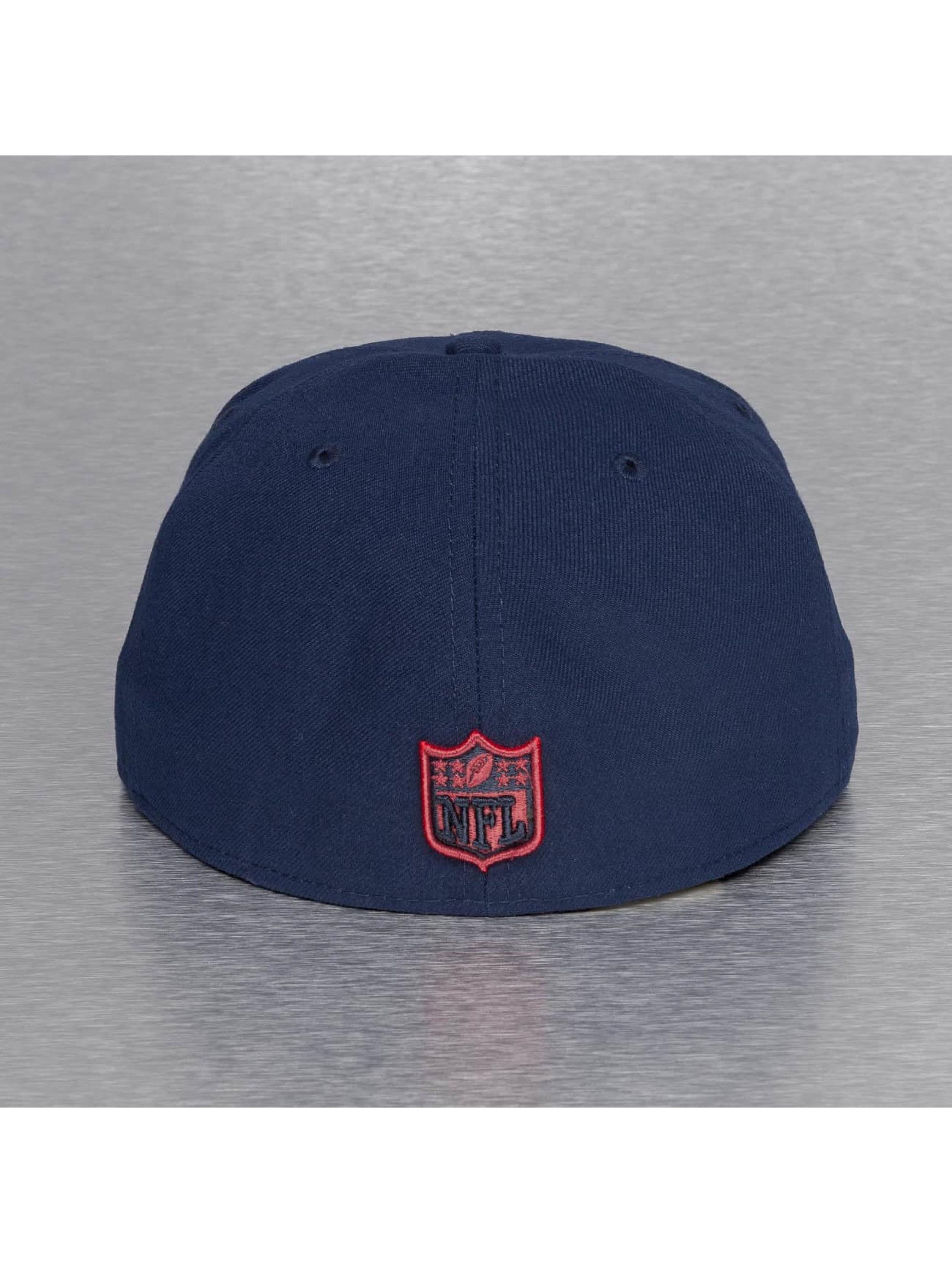 New Era Бейсболка On Field 15 Sideline New England Patriots синий