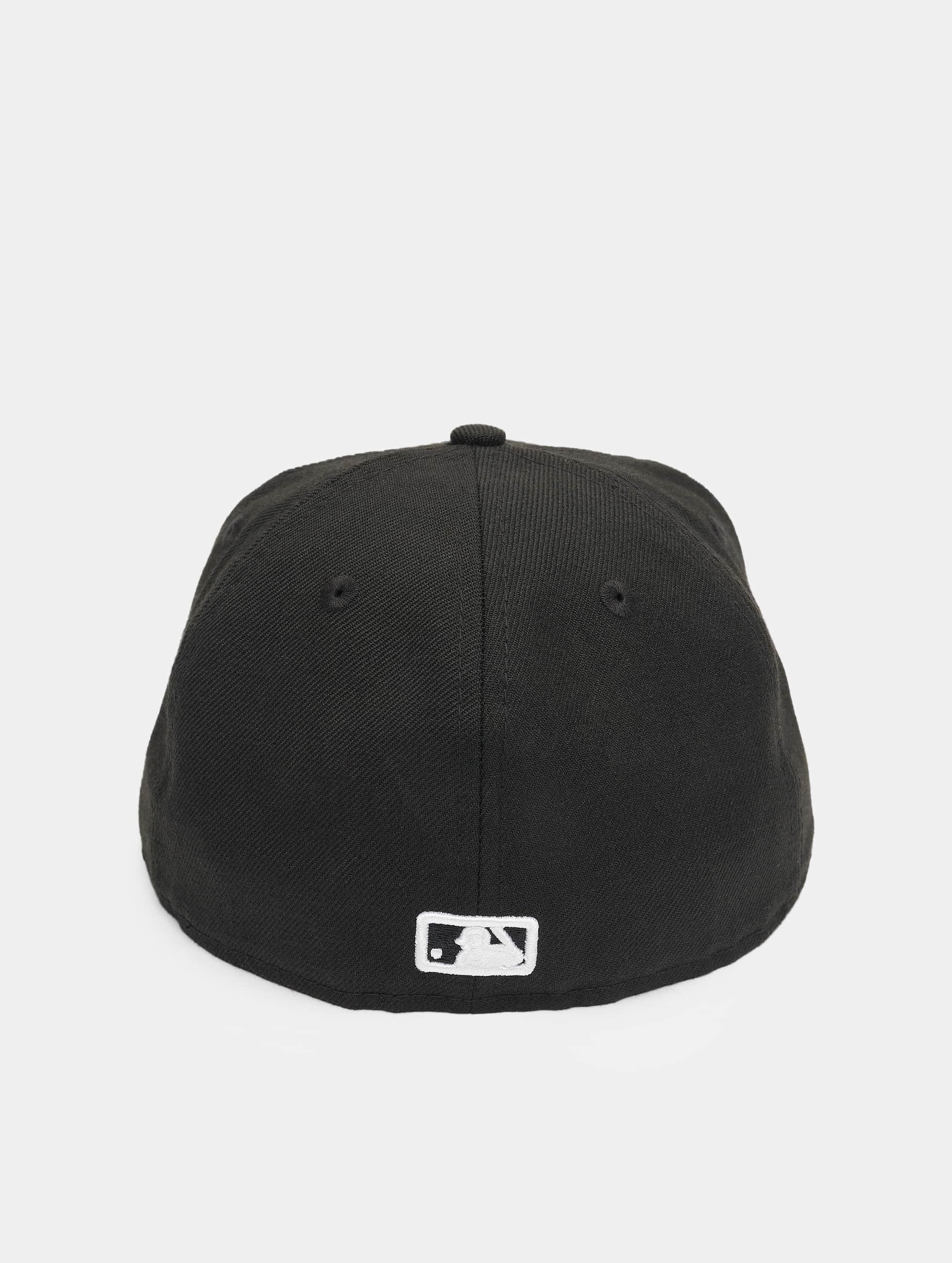 New Era Бейсболка MLB Basic Atlanta 59Fifty черный