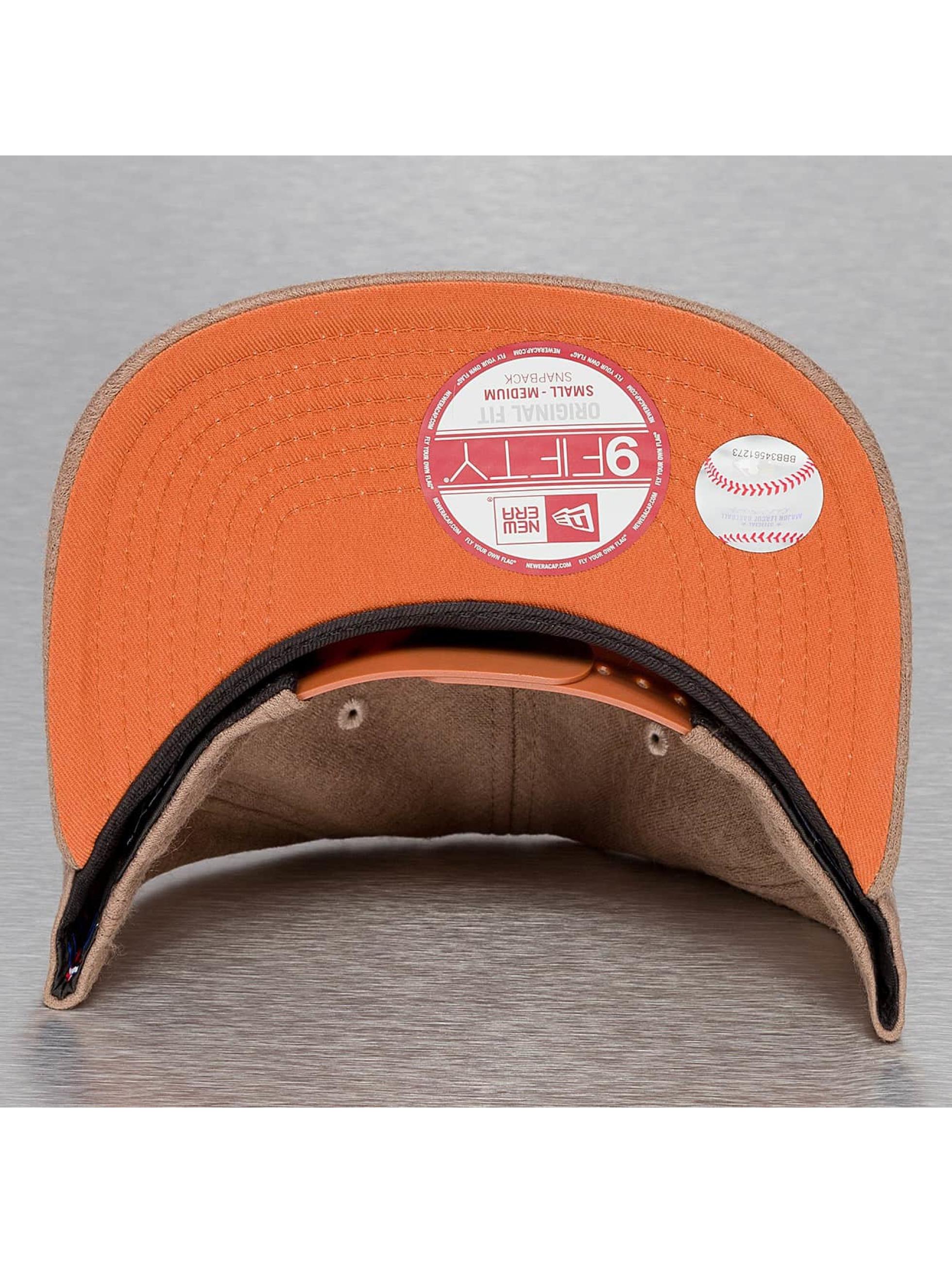 New Era Кепка с застёжкой Felt Wool NY Yankees коричневый
