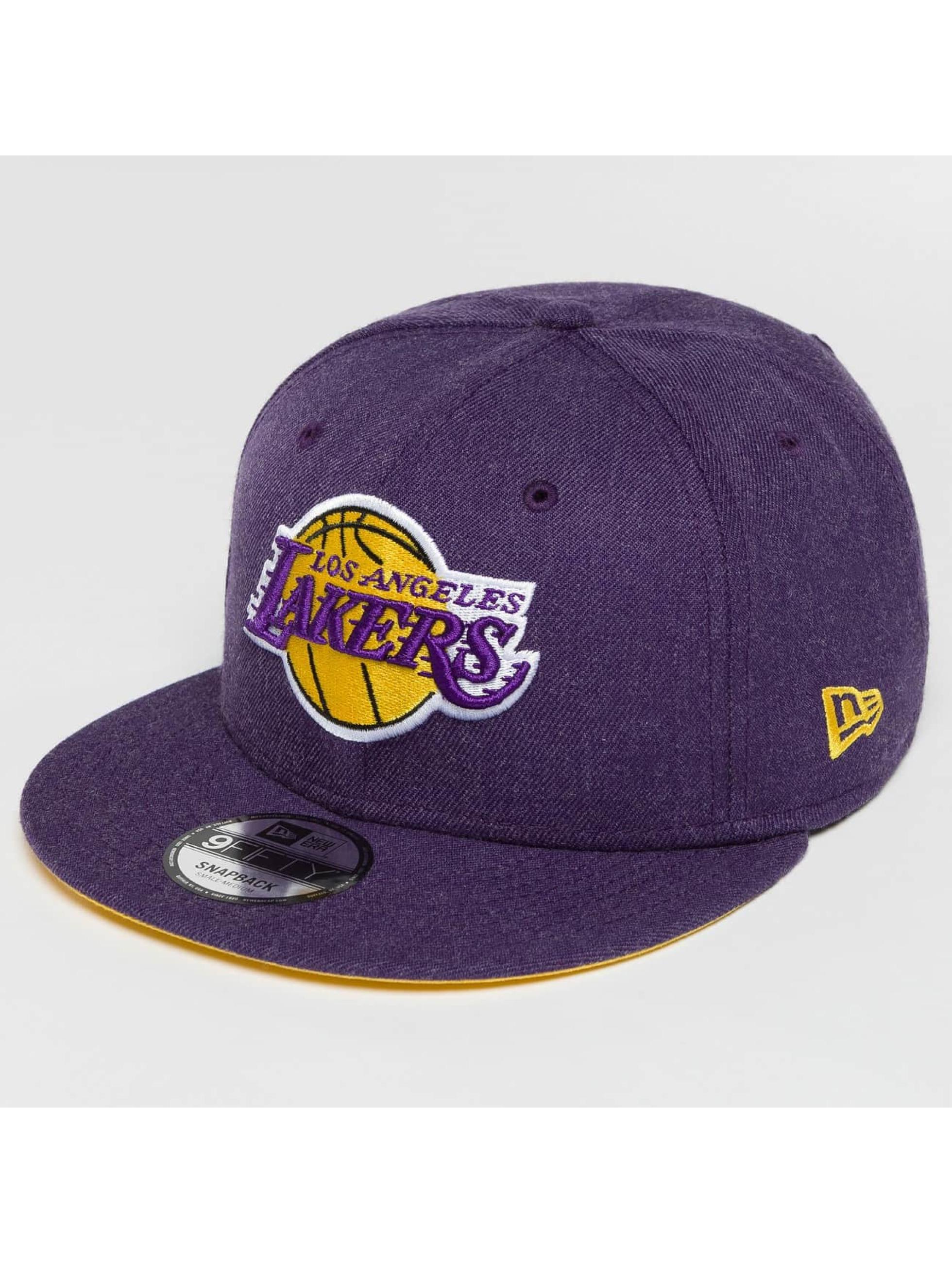 New Era Кепка с застёжкой Team Heather LA Lakers пурпурный