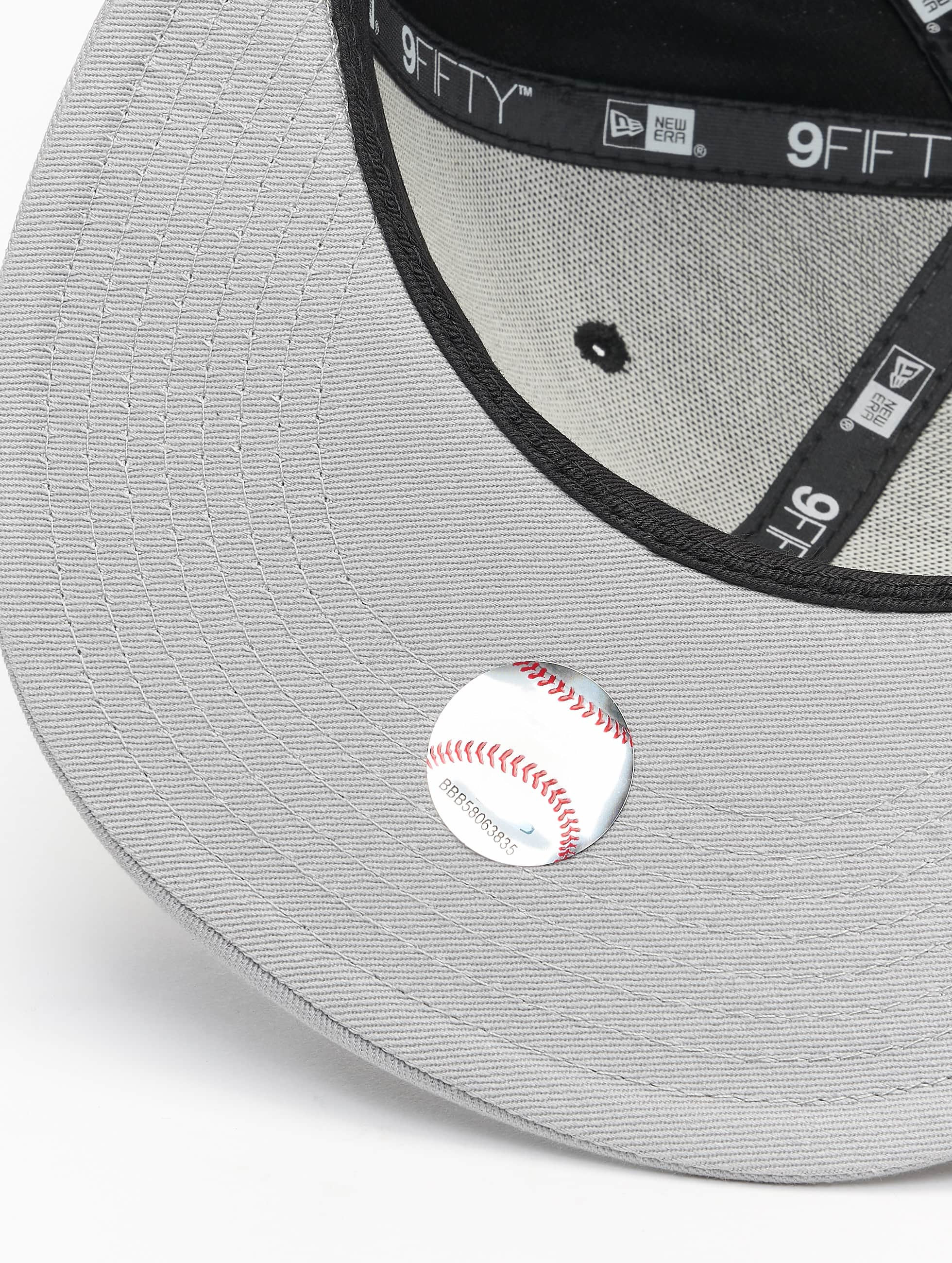 New Era Кепка с застёжкой MLB Cotton Block NY Yankees черный