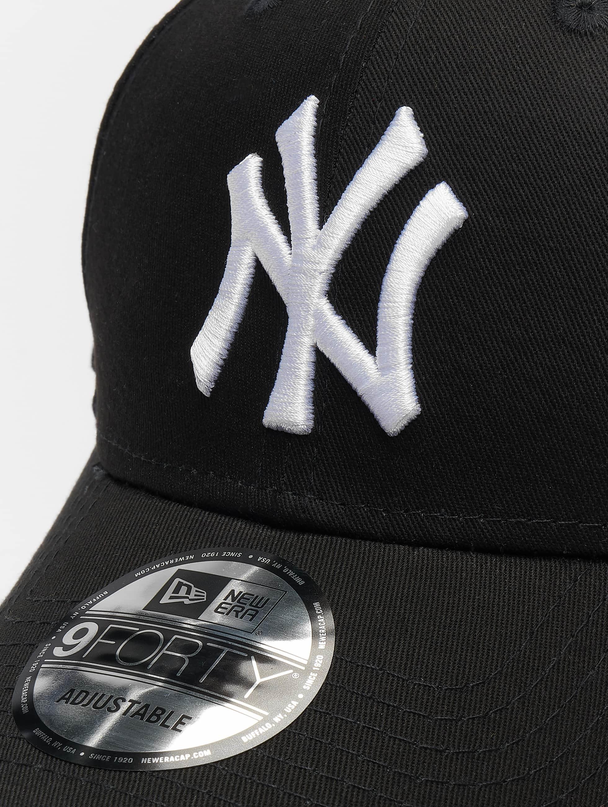 New Era Кепка с застёжкой 9Forty League Basic NY Yankees черный