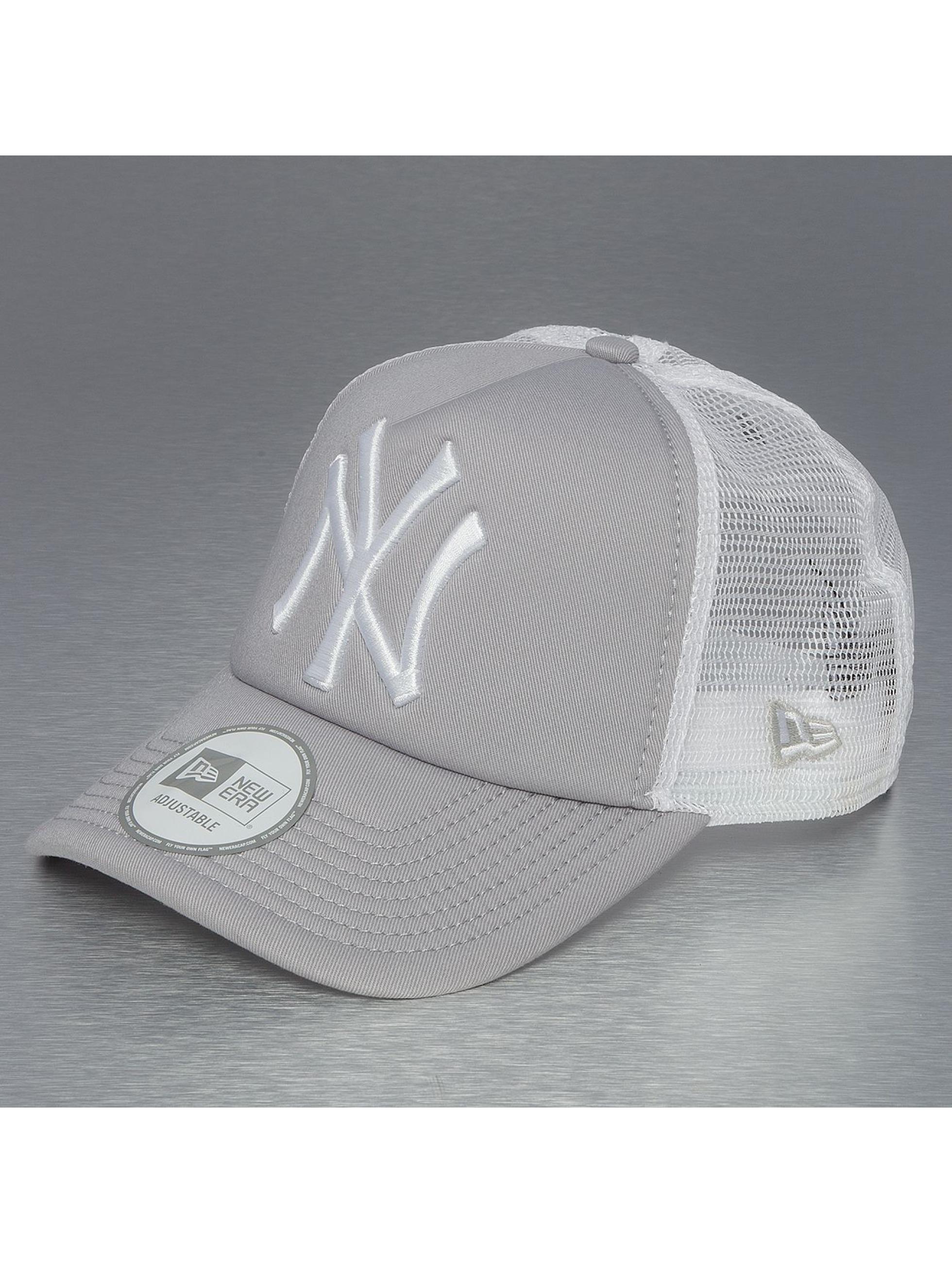 New Era Кепка тракер Clean NY Yankees серый