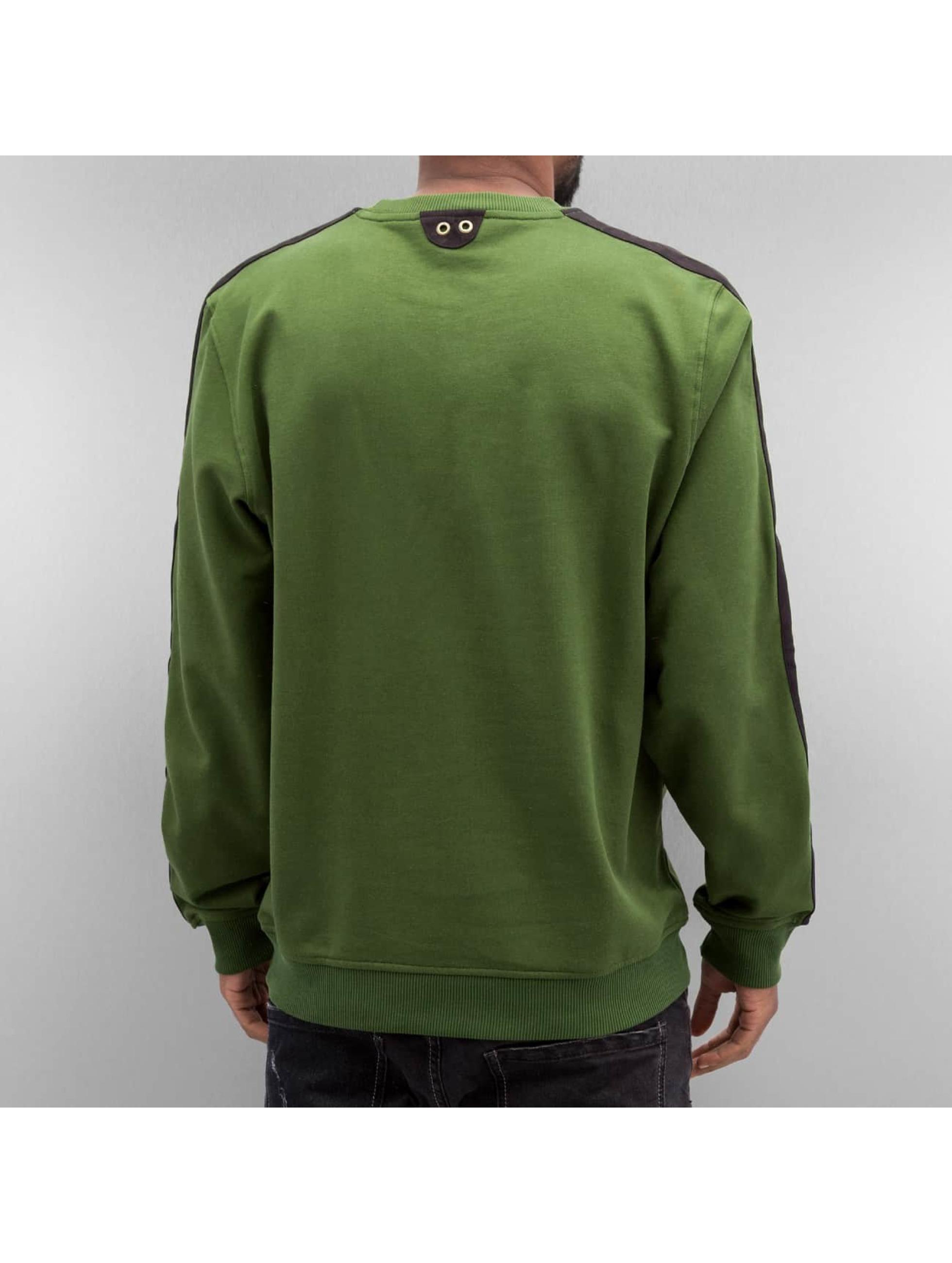 New Era Пуловер Crafted зеленый