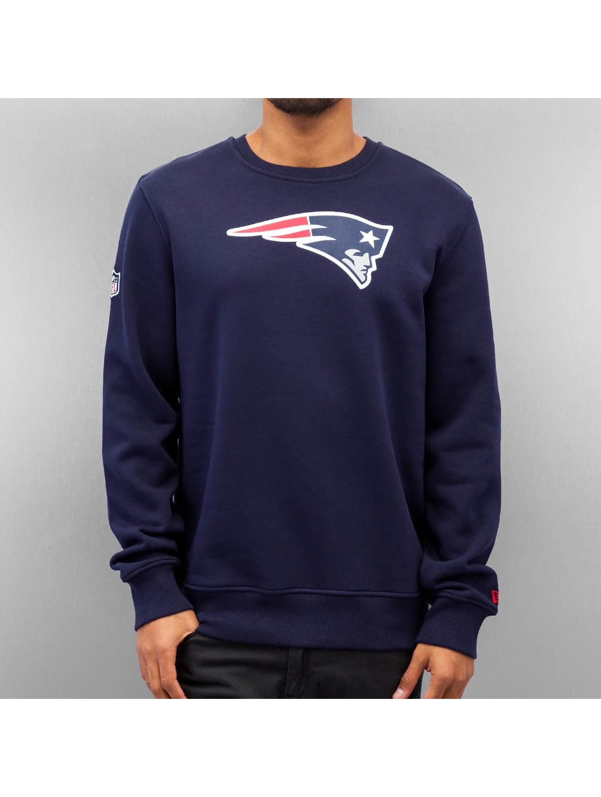 New Era Пуловер Team Logo New England Patriots синий