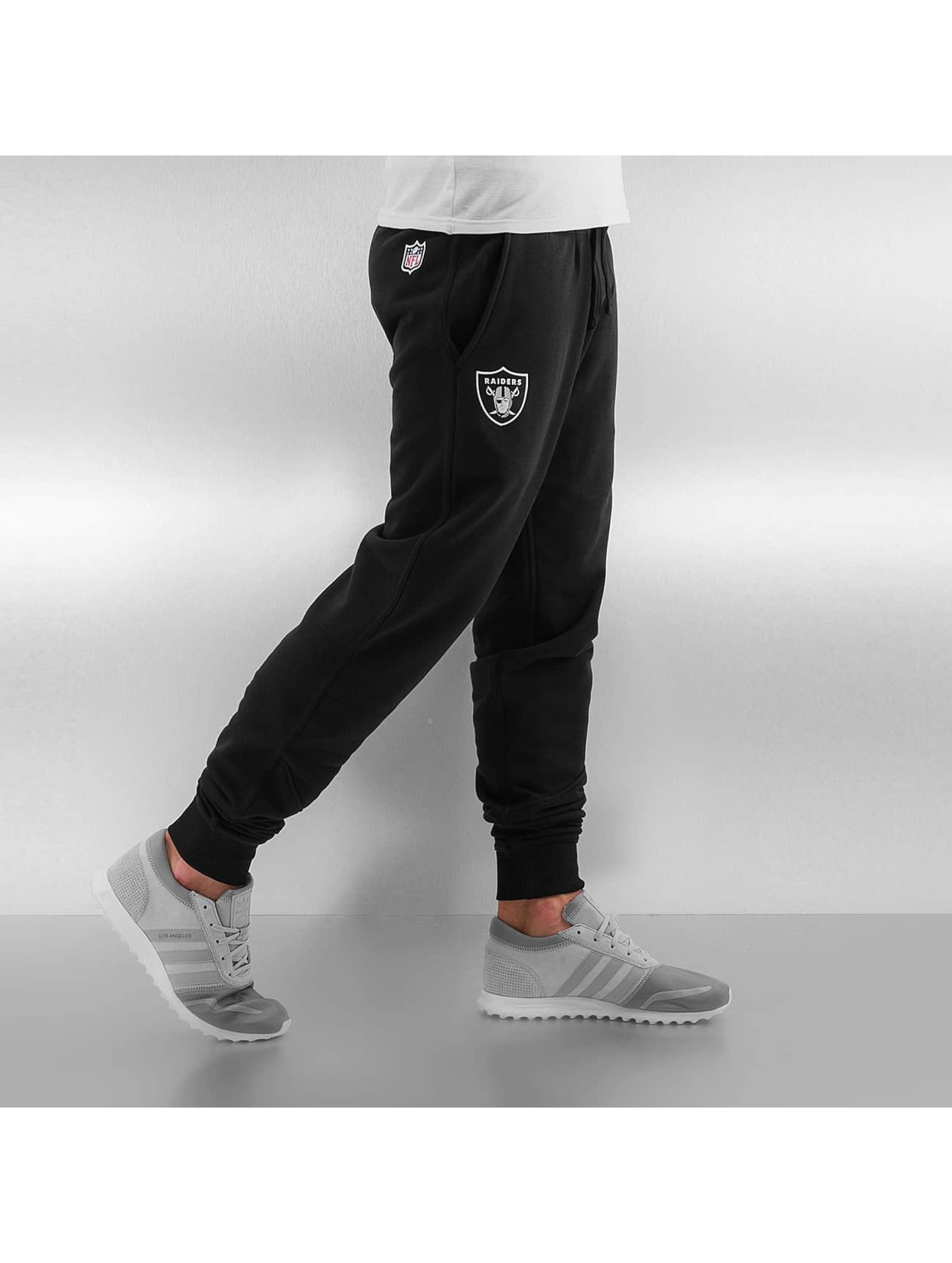 New Era Спортивные брюки Oakland Raiders черный